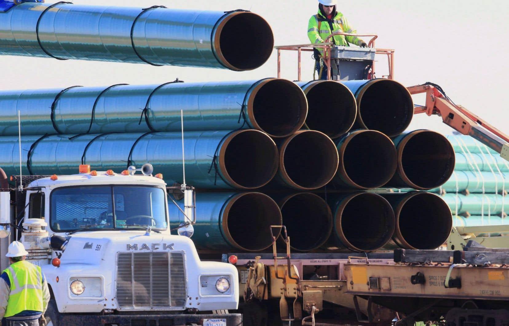 Cette suspension pourrait entraîner un report de la mise en service de ce pipeline.