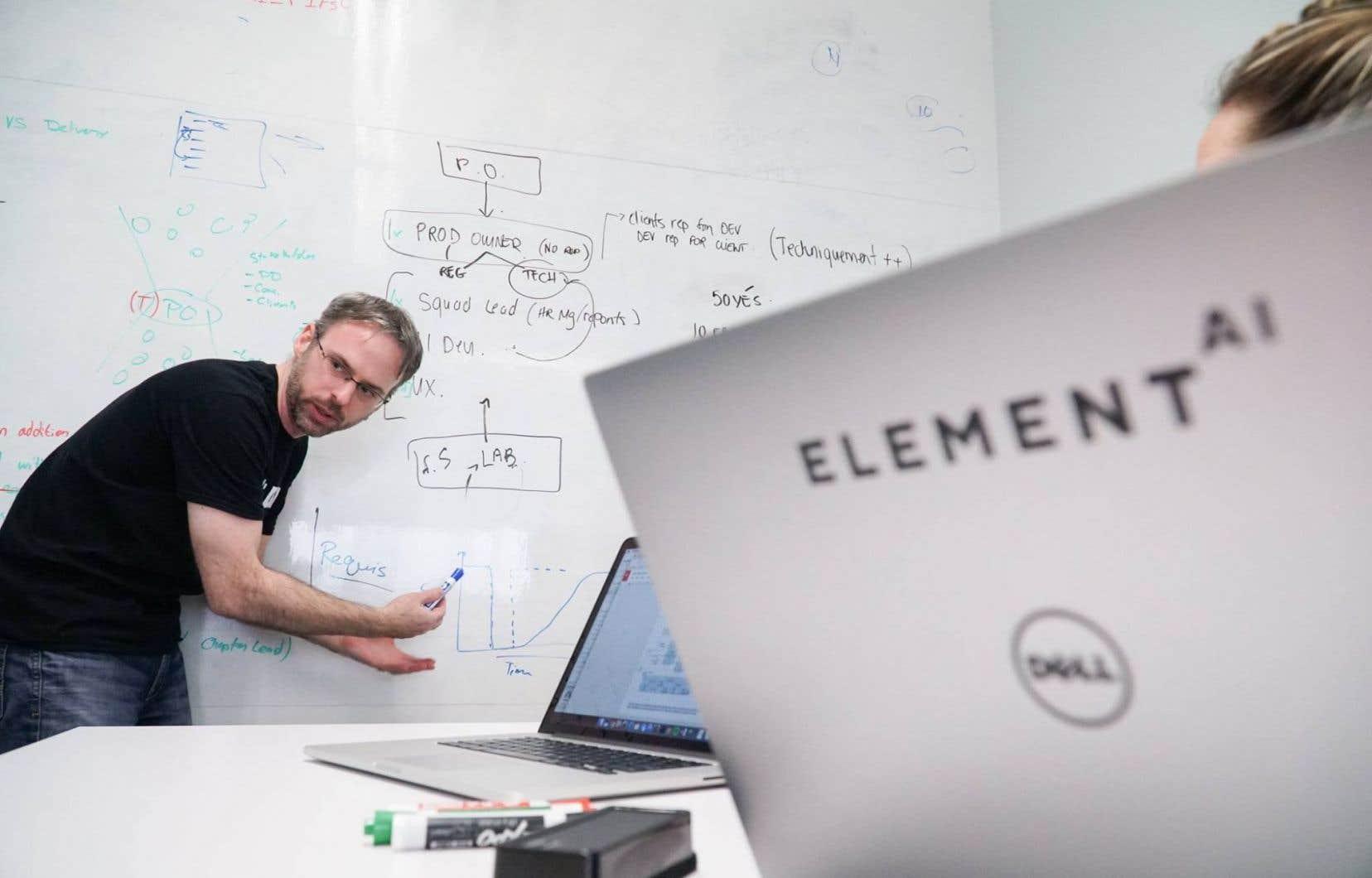 Au cours des prochains mois, l'entreprise consacrera ses énergies au recrutement de nouveaux employés, en tentant de mettre la main sur les très convoités ingénieurs spécialisés en intelligence artificielle.
