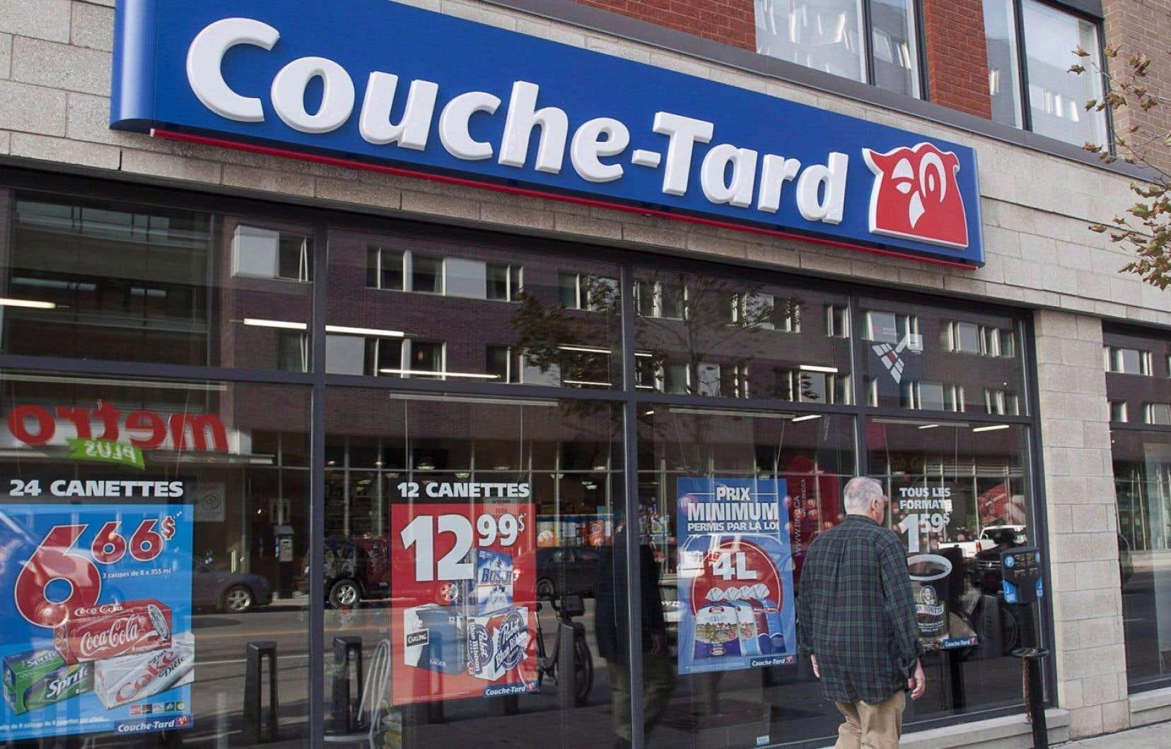 Les démarches de Couche-Tard visent à informer le gouvernement du Québec de sa volonté de faire partie du modèle de vente de cannabis qui sera privilégié.