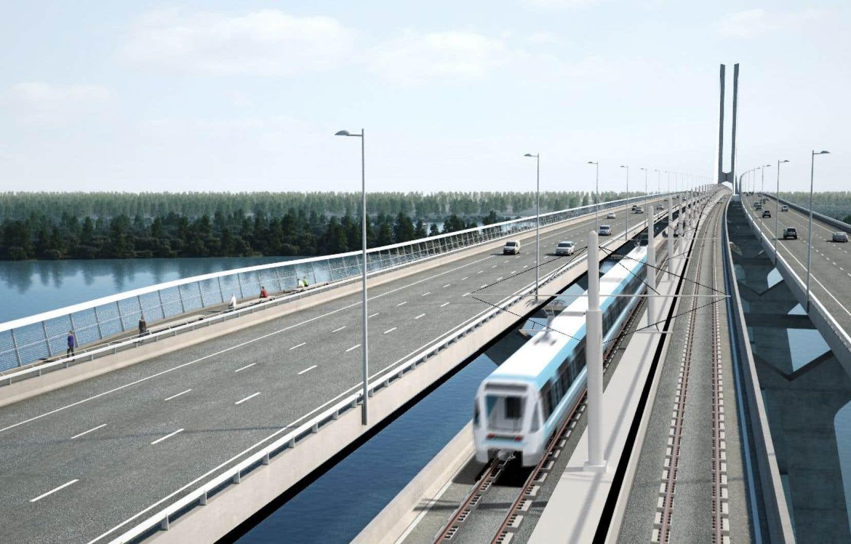 Le Réseau électrique métropolitain (REM) doit être inauguré en 2020.