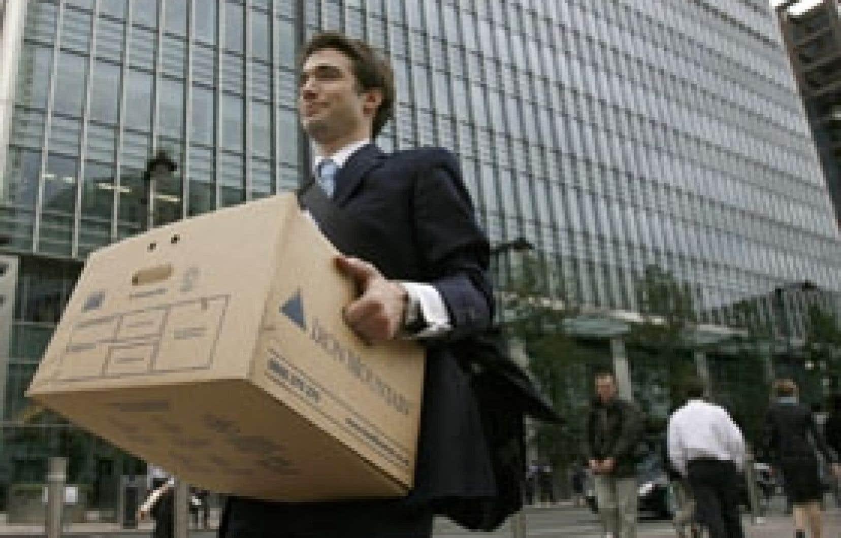 Depuis décembre 2007, l'économie américaine a détruit un million d'emplois.