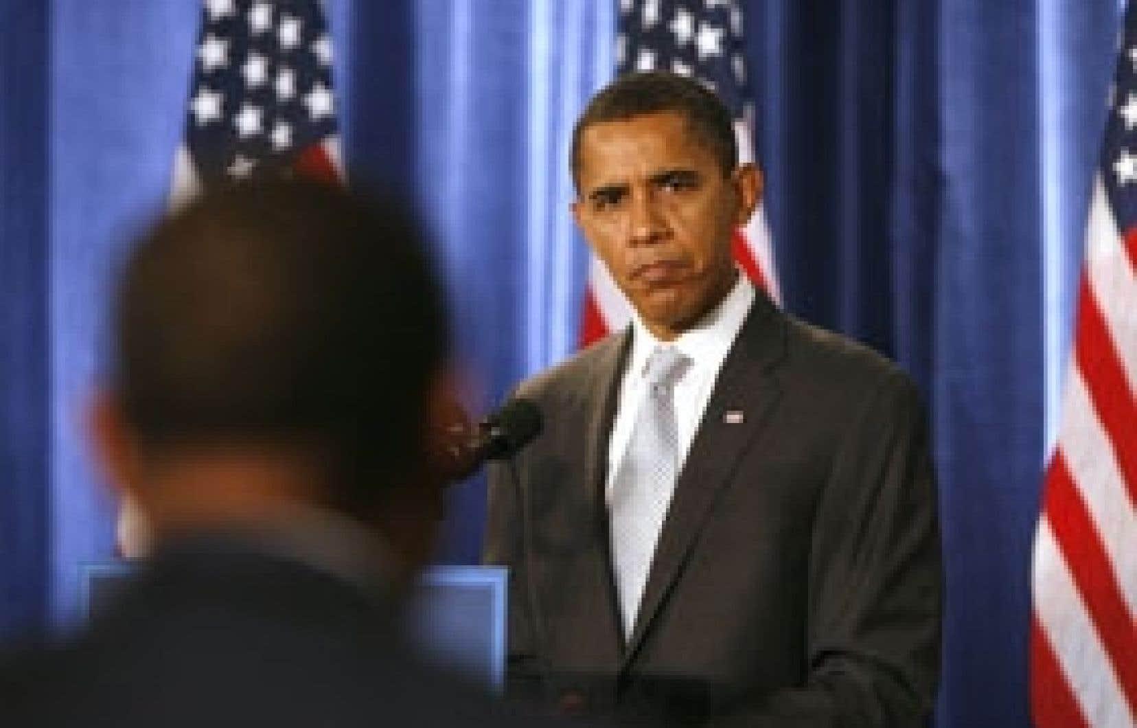 Barack Obama a relevé hier que les dirigeants des trois grands constructeurs américains semblaient avoir présenté des plans «plus sérieux» que ceux qu'ils avaient soumis au Congrès le mois dernier.