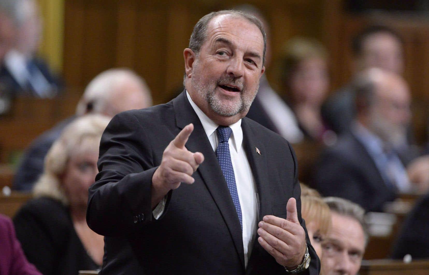 Denis Lebel a été député fédéral pour la première fois lors d'une élection complémentaire en 2007.