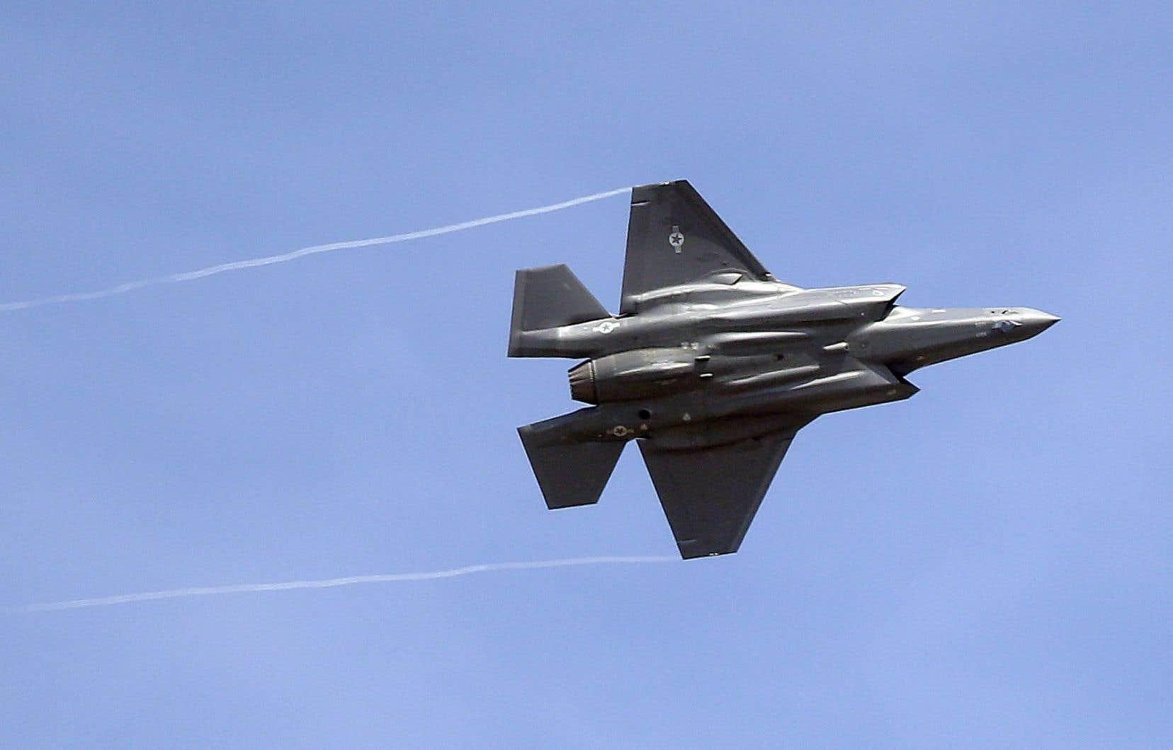 Le gouvernement fédéral cherche à acquérier des F-35 pour remplacer ses F-18 viellissants.