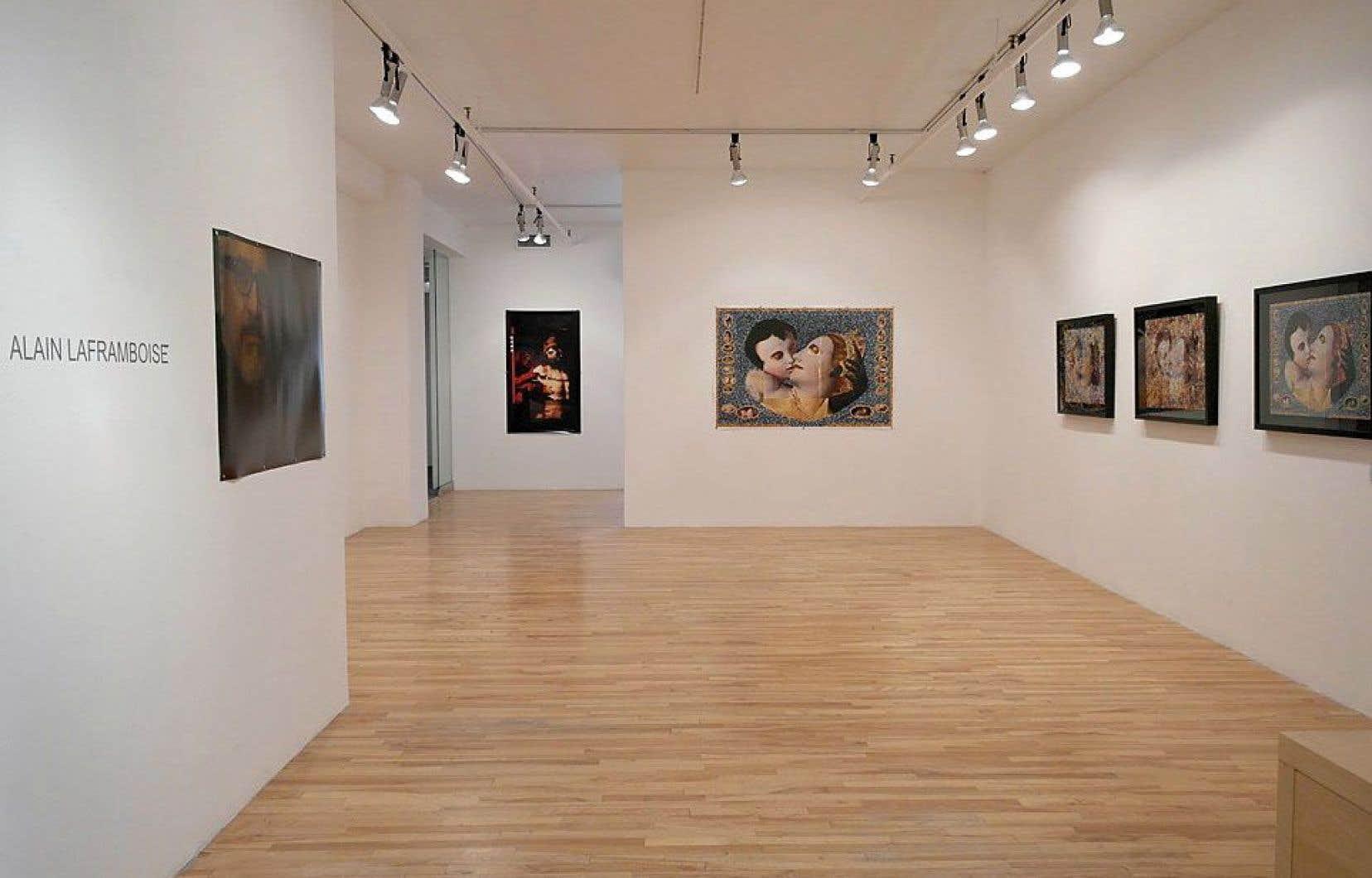 Les œuvres d'Alain Laframboise seront les dernières à être exposées à la galerie Graff.