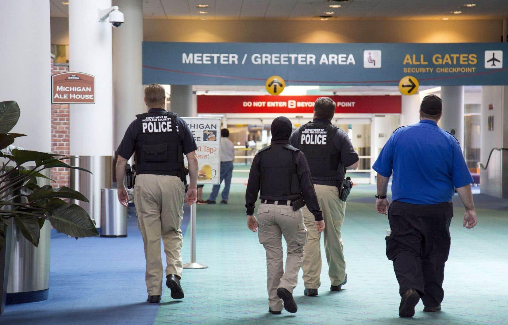 L'aéroport Bishop de Flint a augmenté ses effectifs de sécurité après la tentative de meurtre de lundi.