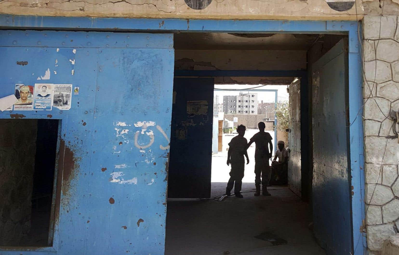 Des anciens détenus disent que la torture est répandue dans les prisons du sud du Yémen comme celle d'Aden, connue sous le nom de Mansoura.