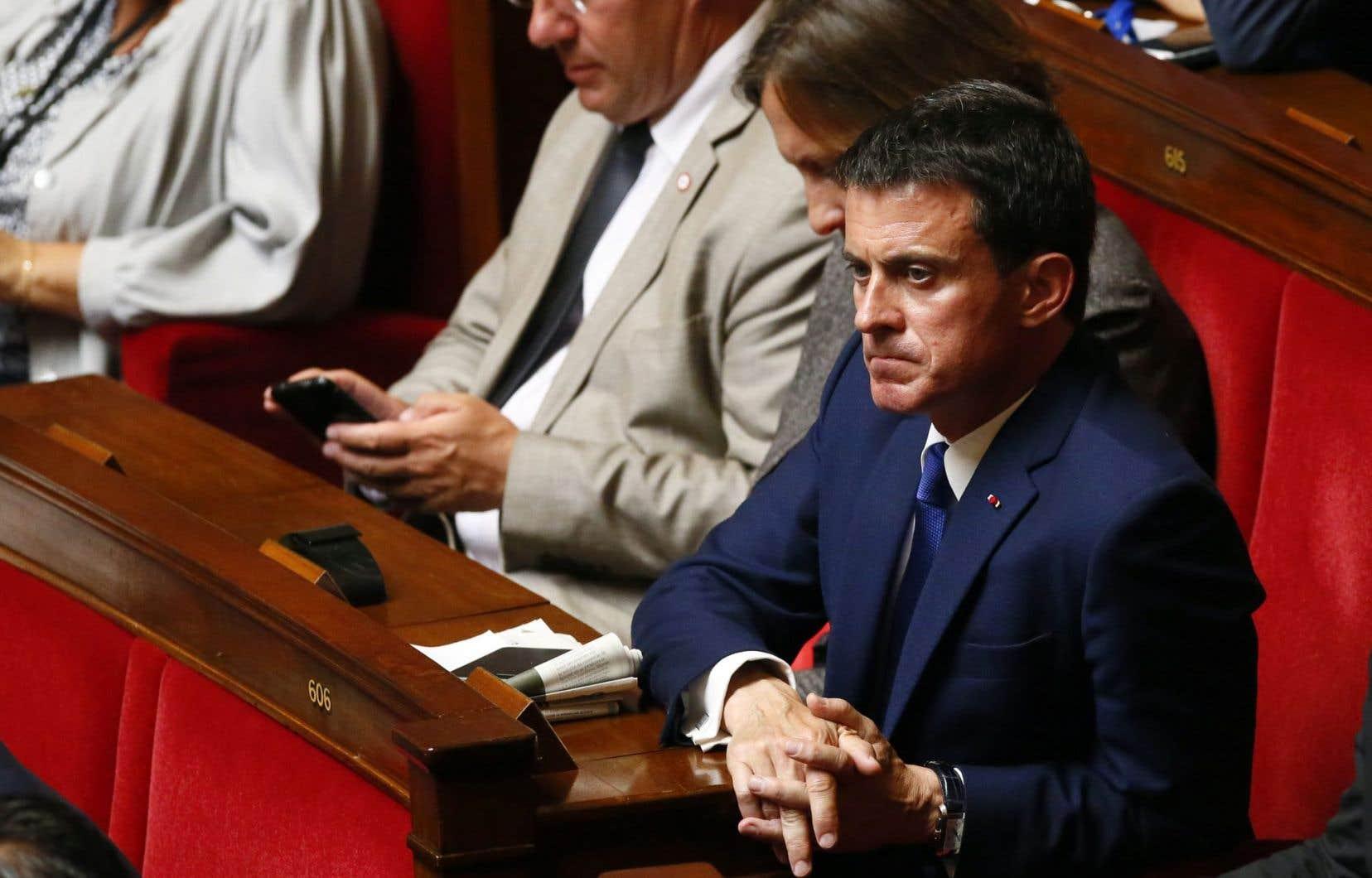 Après la débâcle socialiste à la présidentielle, Manuel Valls avait été l'un des premiers à prononcer l'oraison funèbre de la formation politique.