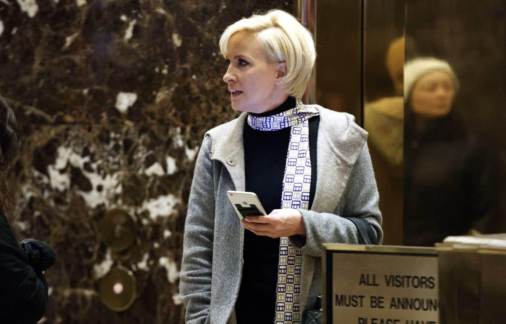 La journaliste Mika Brzezinski a reçu par Twitter un flot d'insultes du président américain jeudi.