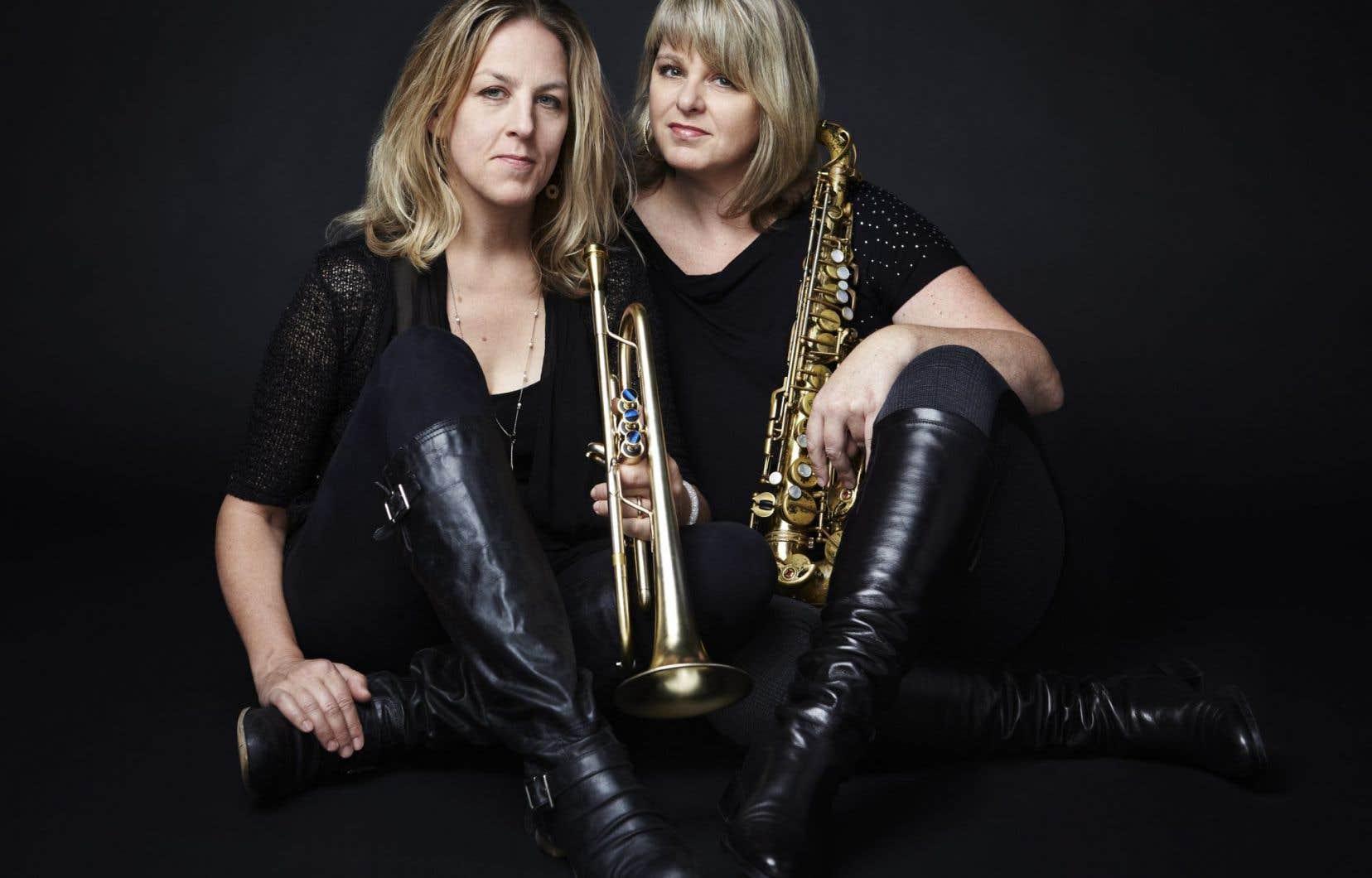 Les soeurs Christine et Ingrid Jensen