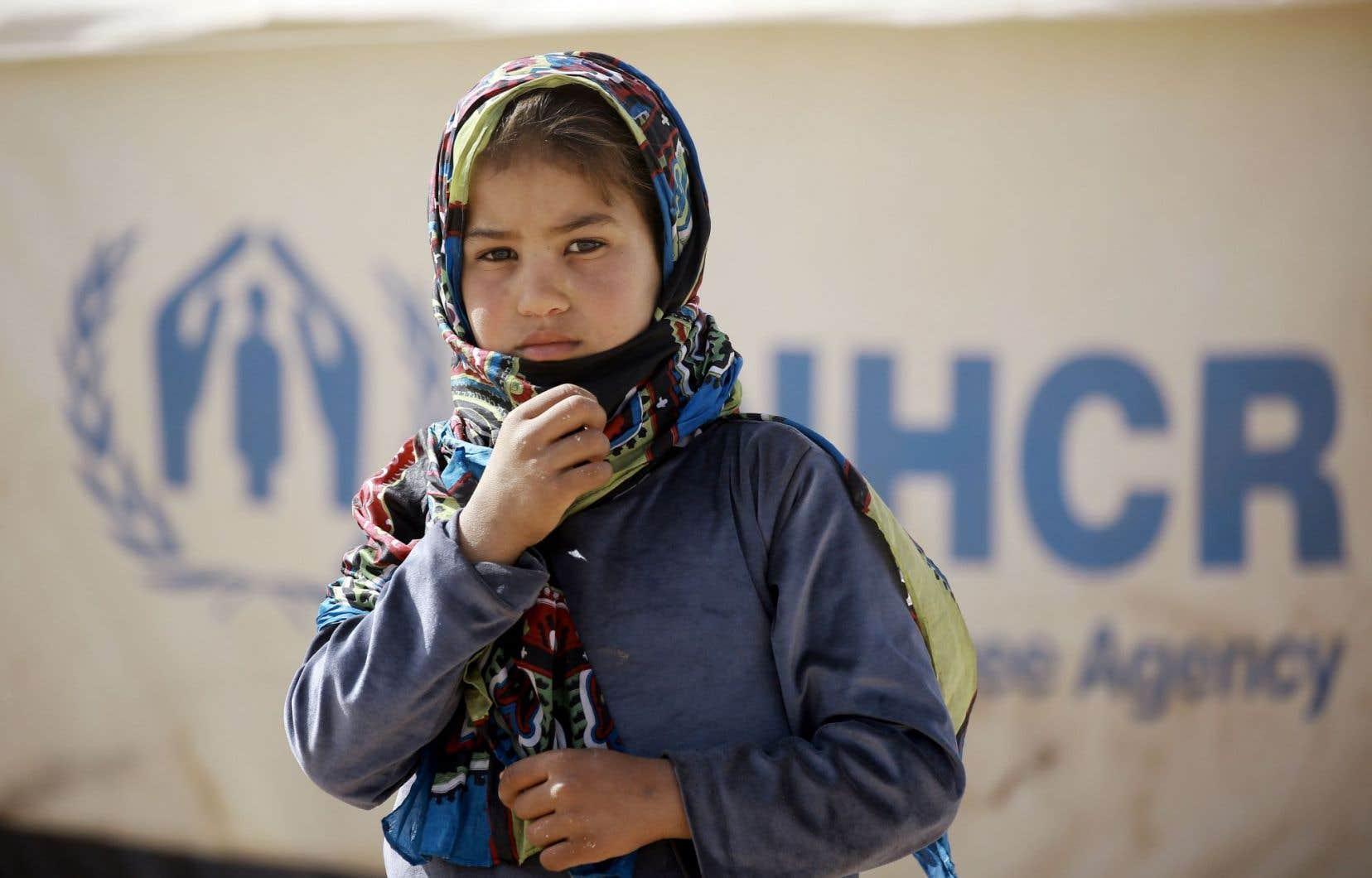 Un réfugié prioritaire sur deux est un enfant.