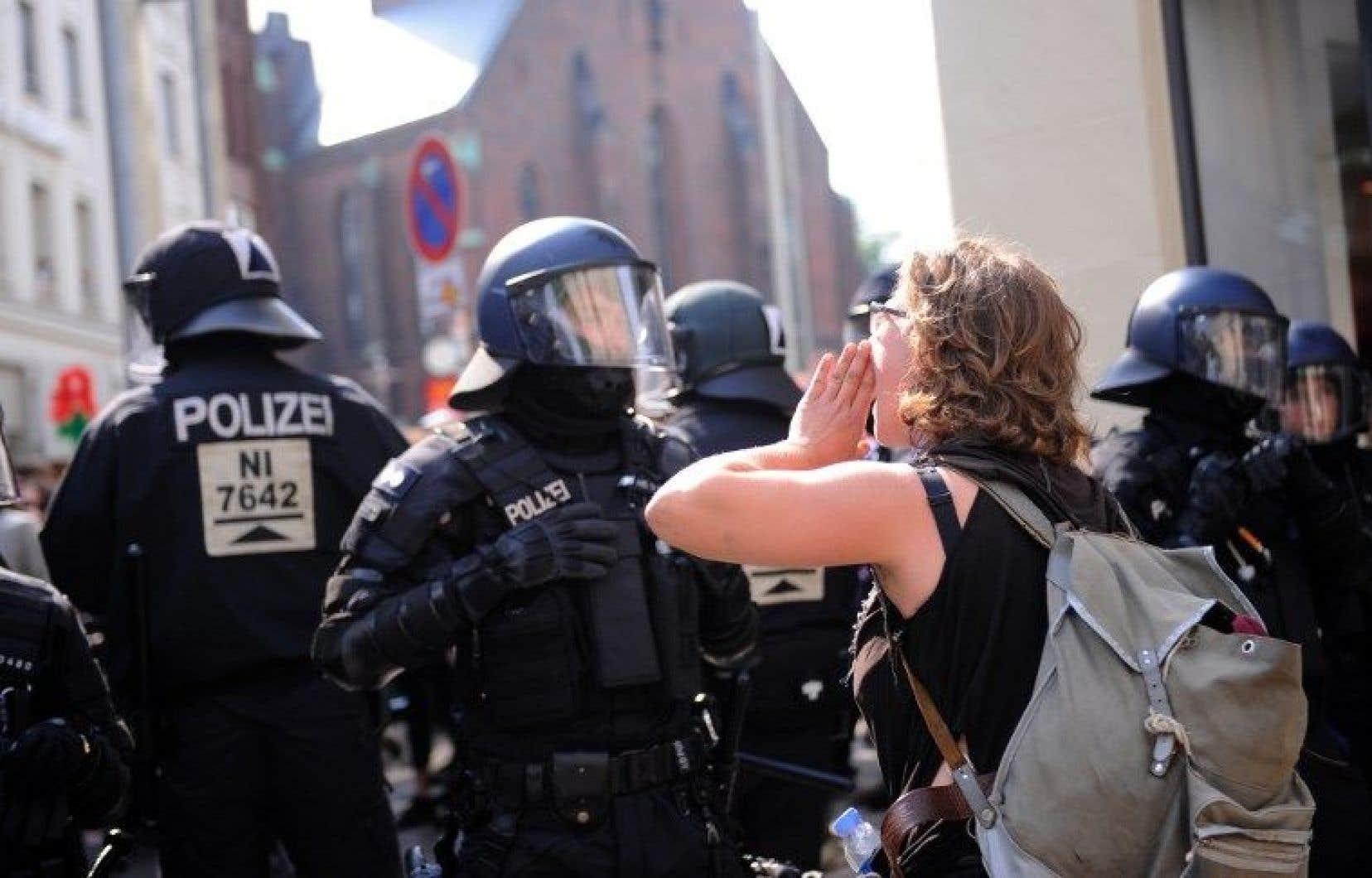 Selon les autorités, jusqu'à 100 000 manifestants devraient battre le pavé sur plusieurs jours, en marge du sommet du G20.