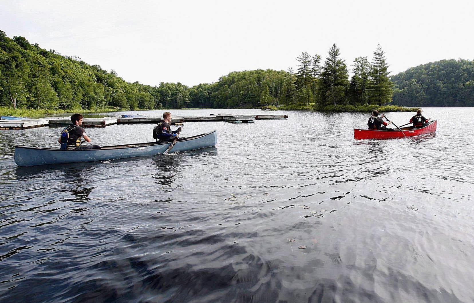 Le Québec compte 3,5millions de plans d'eau sur son territoire, mais à peine 60000 d'entre eux ont un nom officiel enregistré à la Commission de la toponymie.