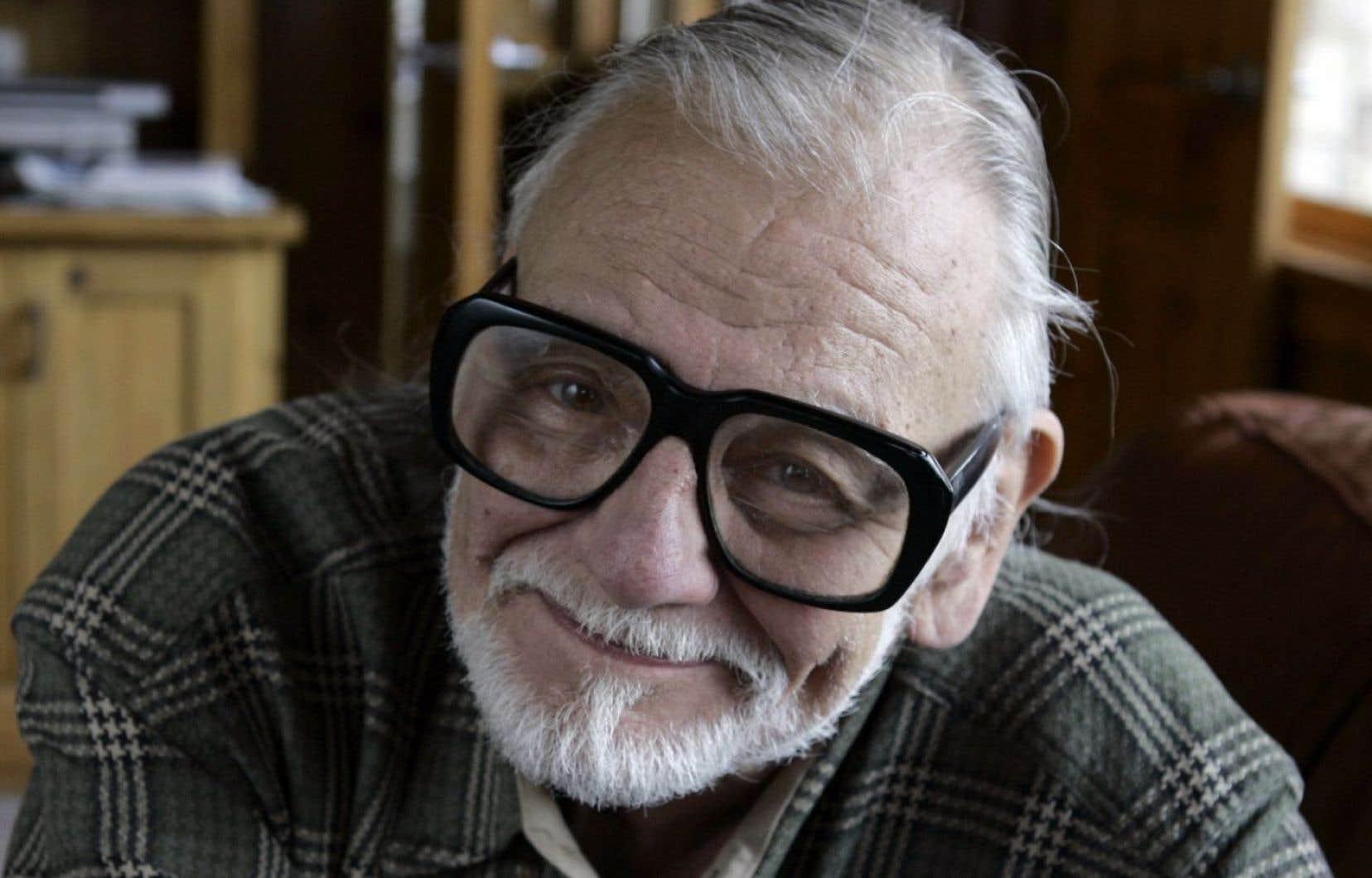 Le réalisateur George A. Romero en 2008