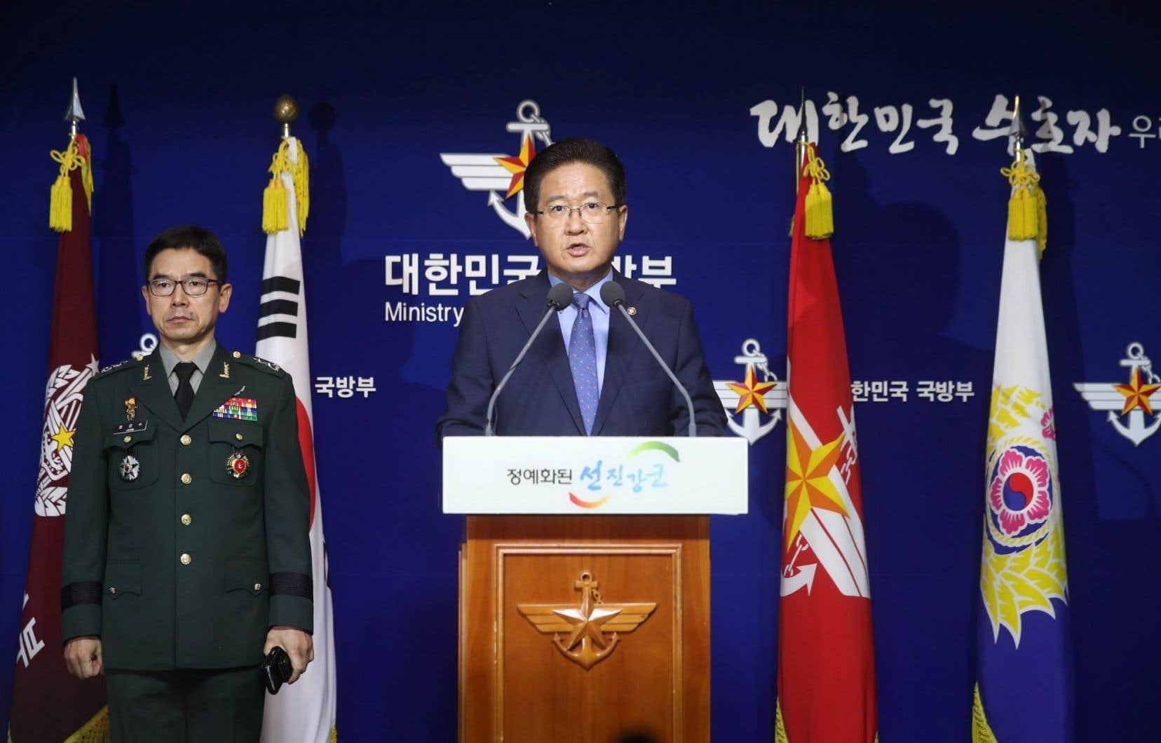 Le vice-ministre sud-coréen de la Défense, Suh Choo-suk