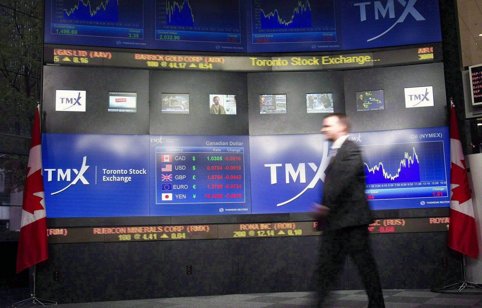Les marchés boursiers de Toronto et de New York ont terminé la séance dans une relative stabilité.