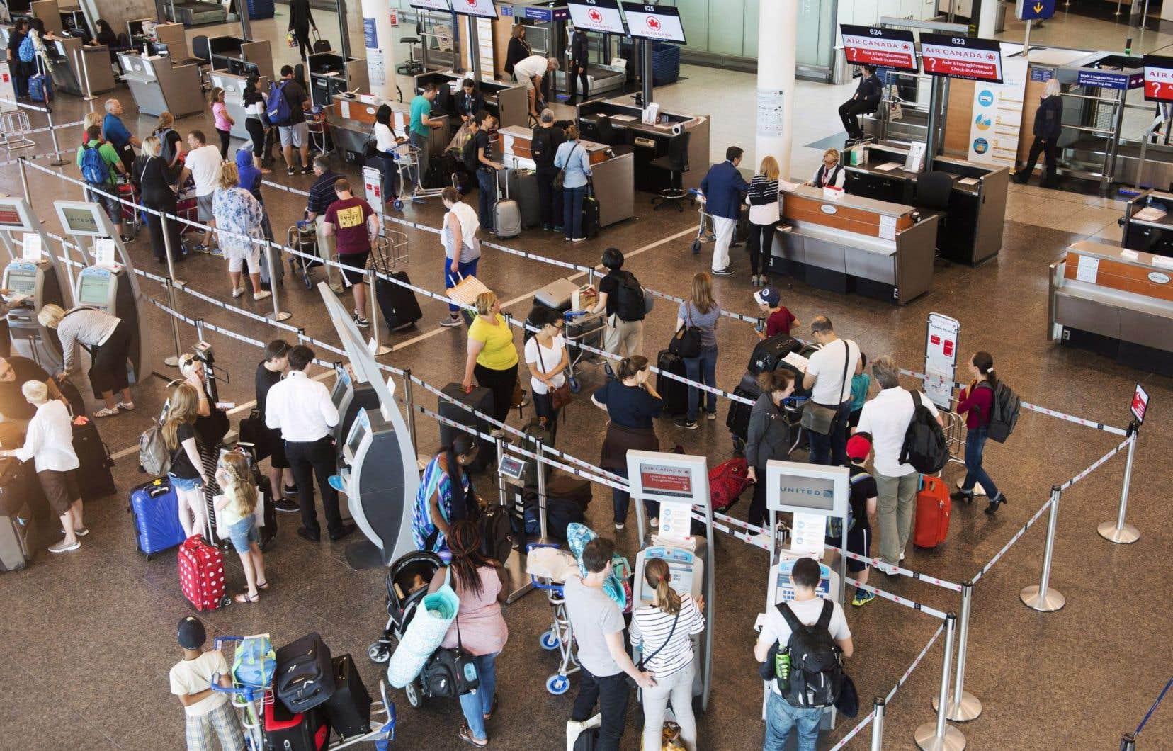 Cette sécurité accrue concerne tous les vols commerciaux en provenance du Canada et à destination des États-Unis.