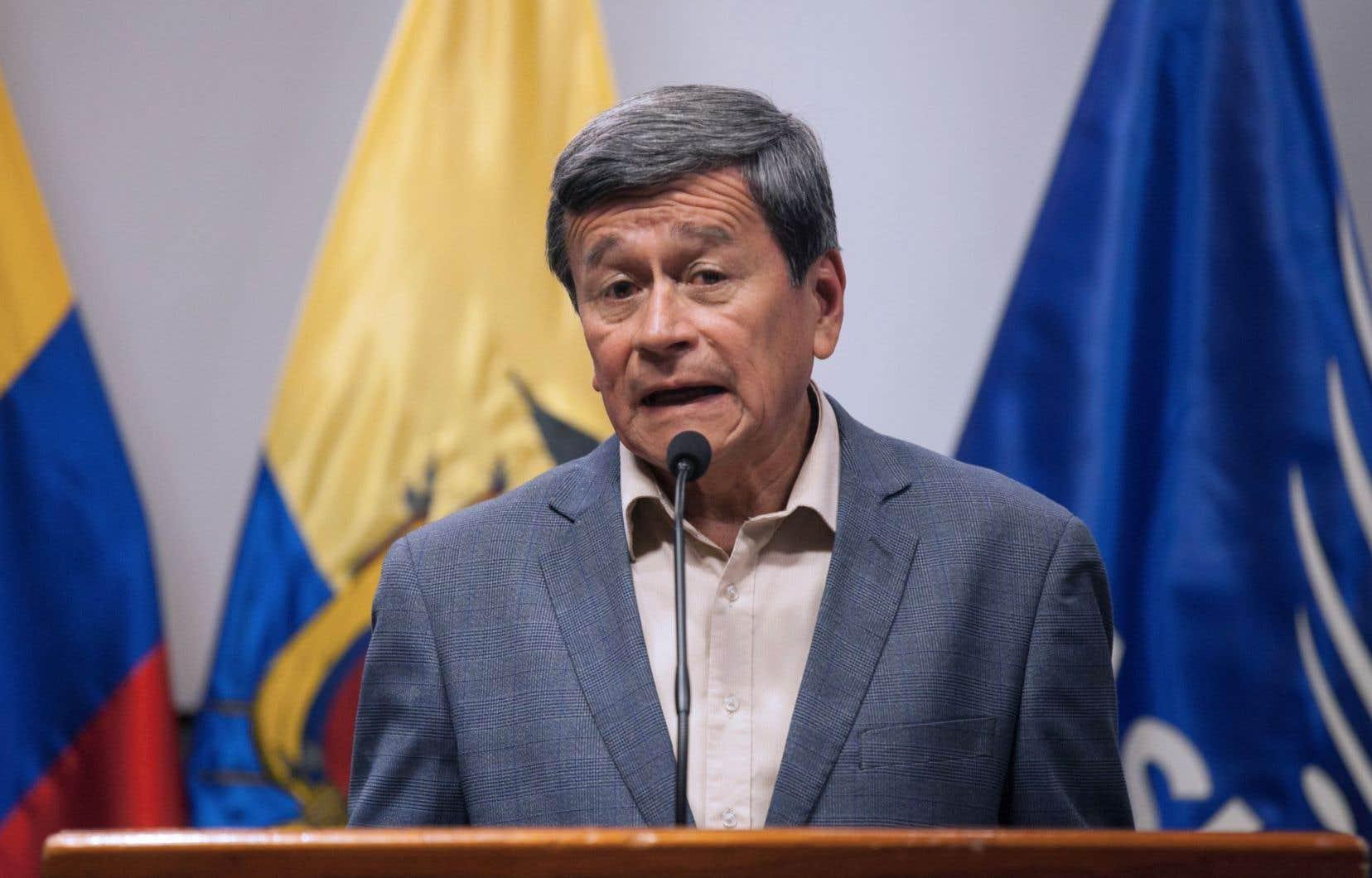 Le négociateur en chef de l'Armée de libération nationale, Pablo Beltrán