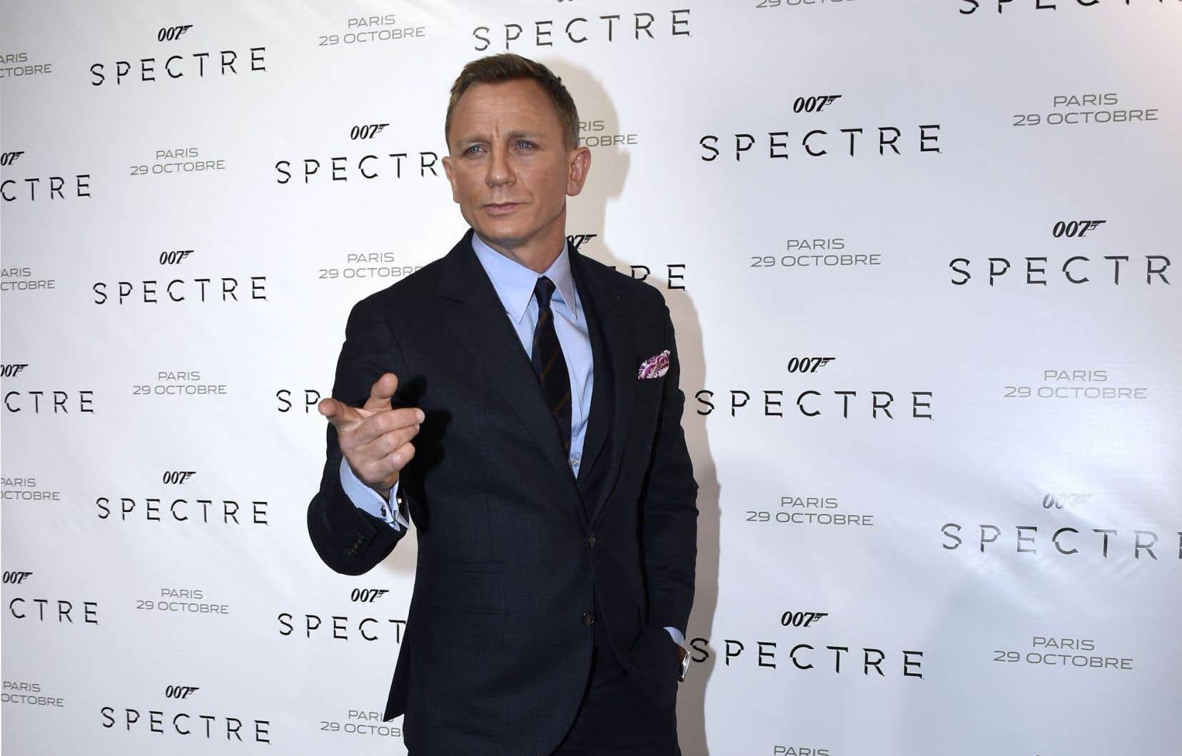 L'acteur britannique Daniel Craiga déjà incarné James Bond à quatre reprises.