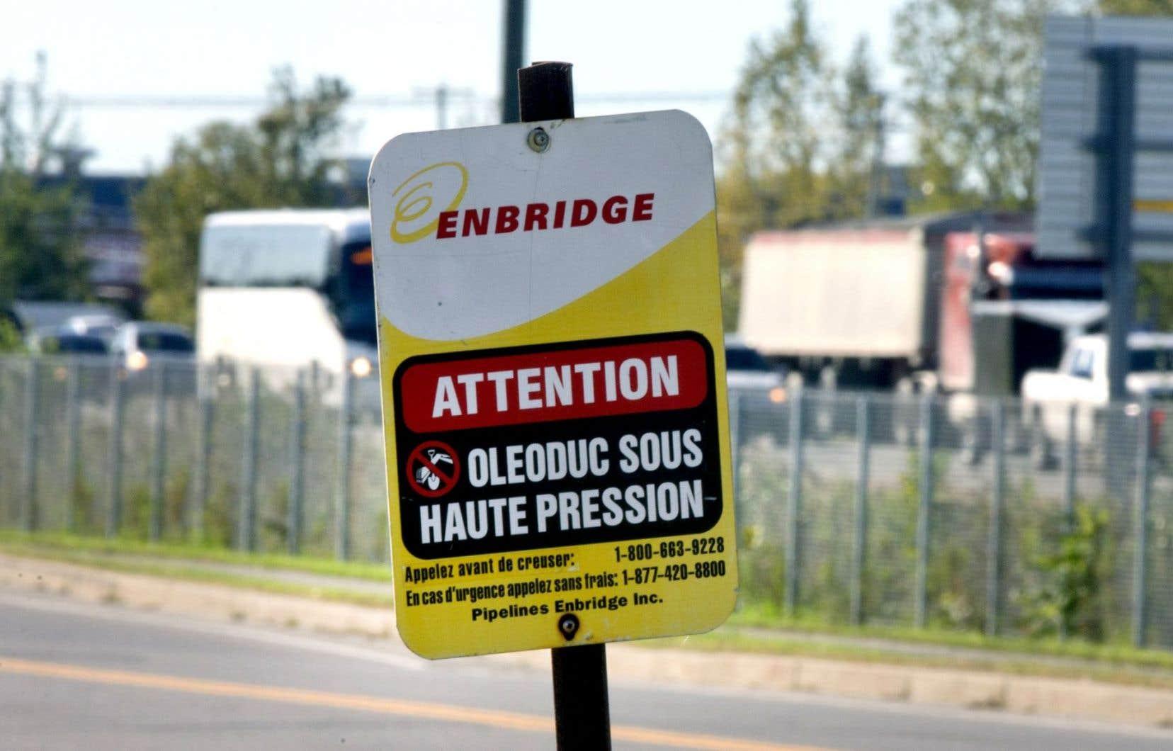 L'une des causes qui ont été entendues par le plus haut tribunal au pays porte sur la canalisation 9B d'Enbridge, qui assure la liaison entre Sarnia, en Ontario, et Montréal.