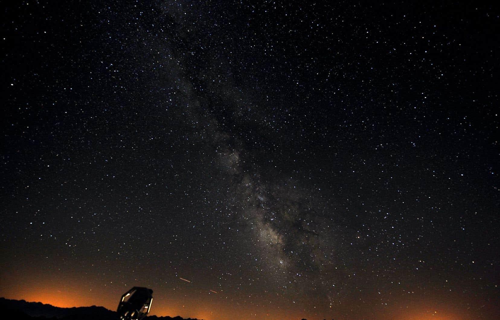 Jusqu'à la moitié de la matière de la Voie lactée proviendrait de galaxies lointaines.