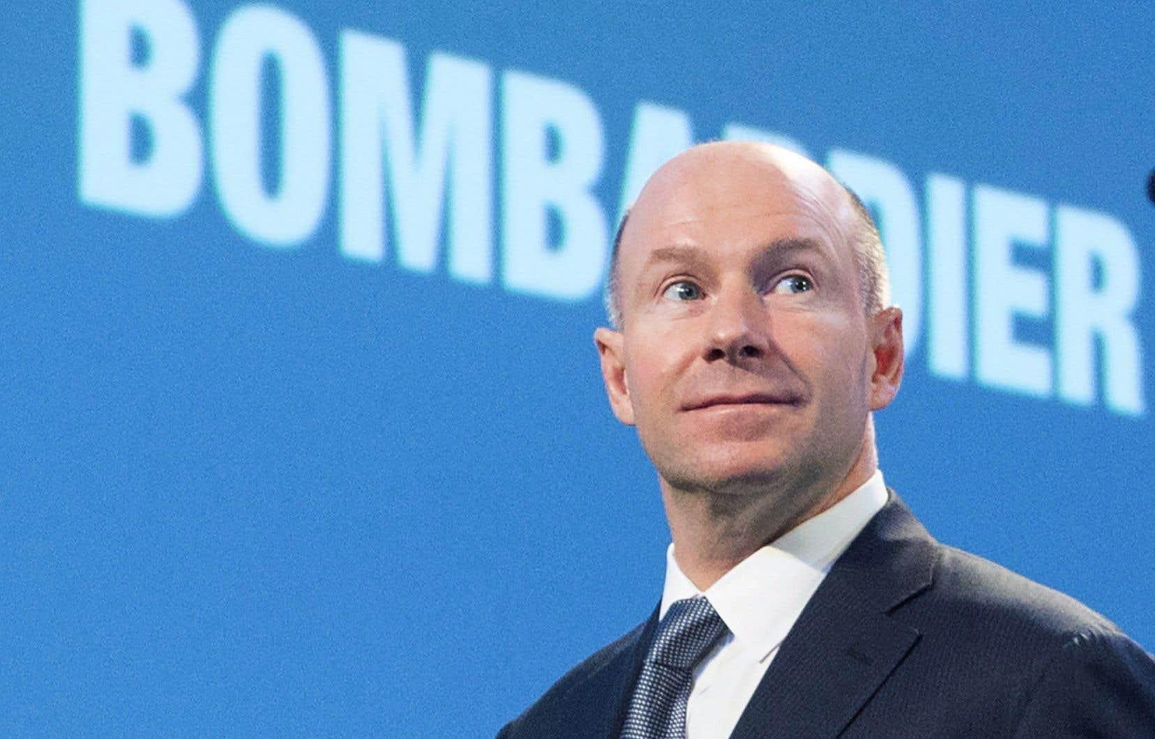 Le président et chef de la direction de Bombardier, Alain Bellemare