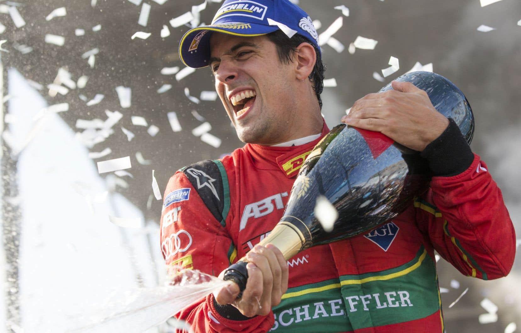 Le nouveau champion des pilotes de Formule électrique,Lucas di Grassi