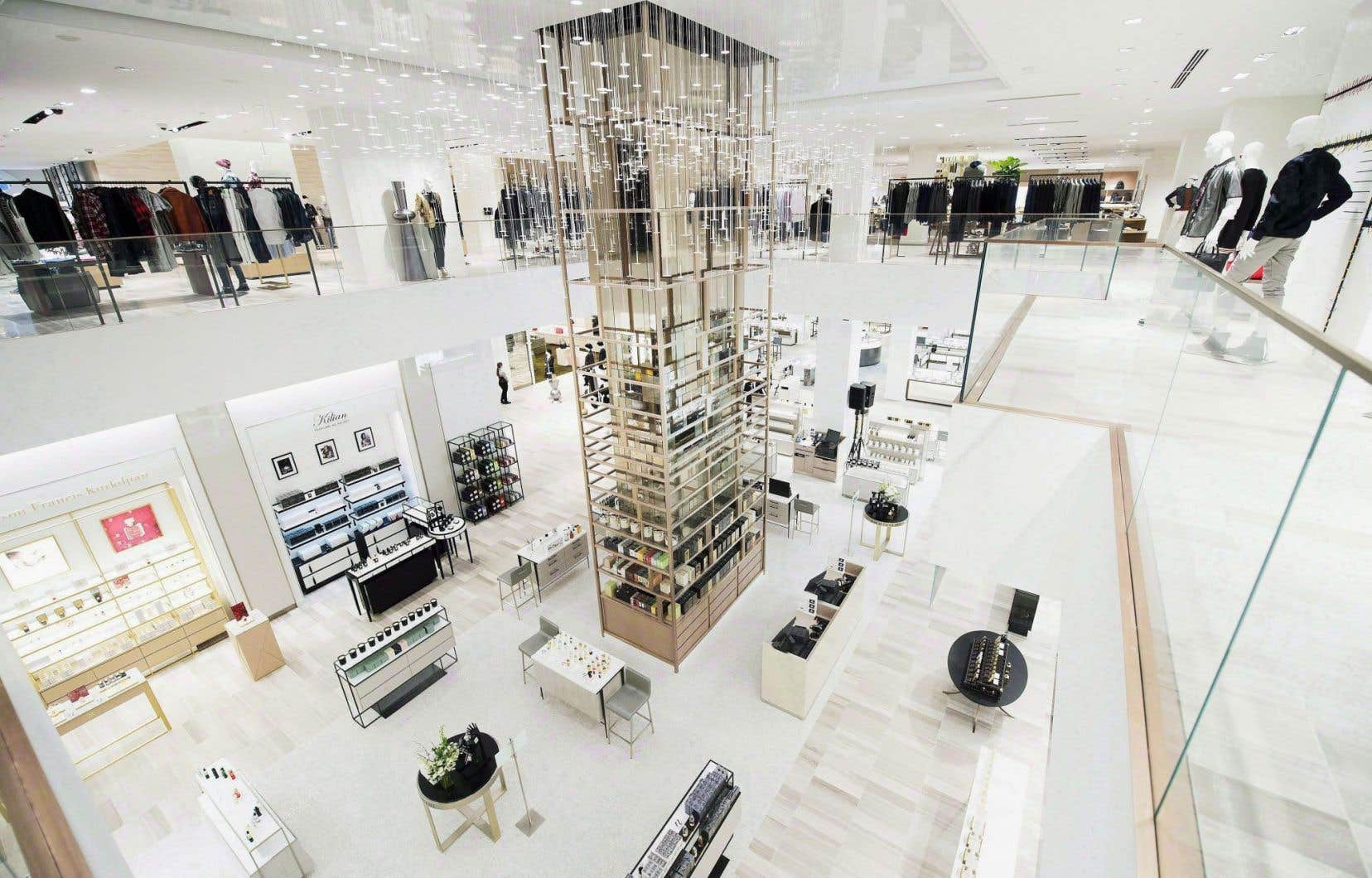 Le magasin phare de Saks Fifth Avenue, à New York, vaudrait à lui seul environ 16$ par action.