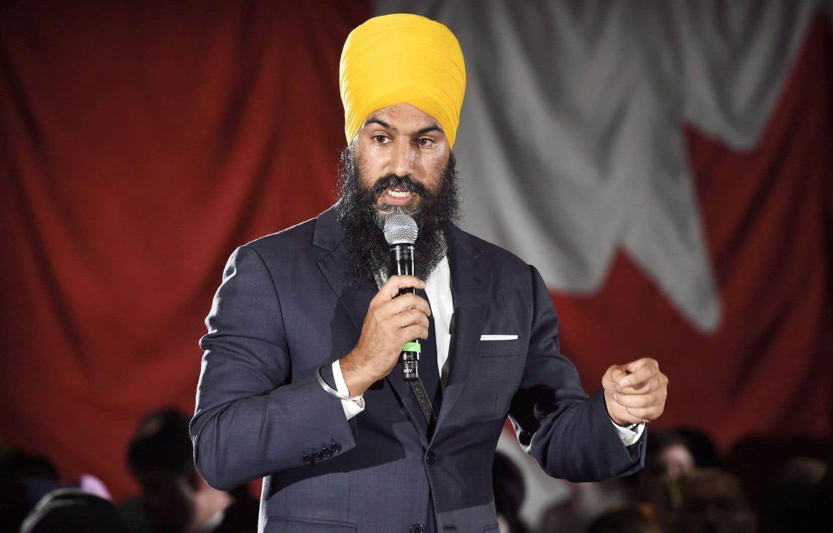 Jagmeet Singh arrive le premier au Québec en ayant récolté 27 970$, loin devant l'unique candidat québécois de la course, Guy Caron, qui a amassé 10 255$.