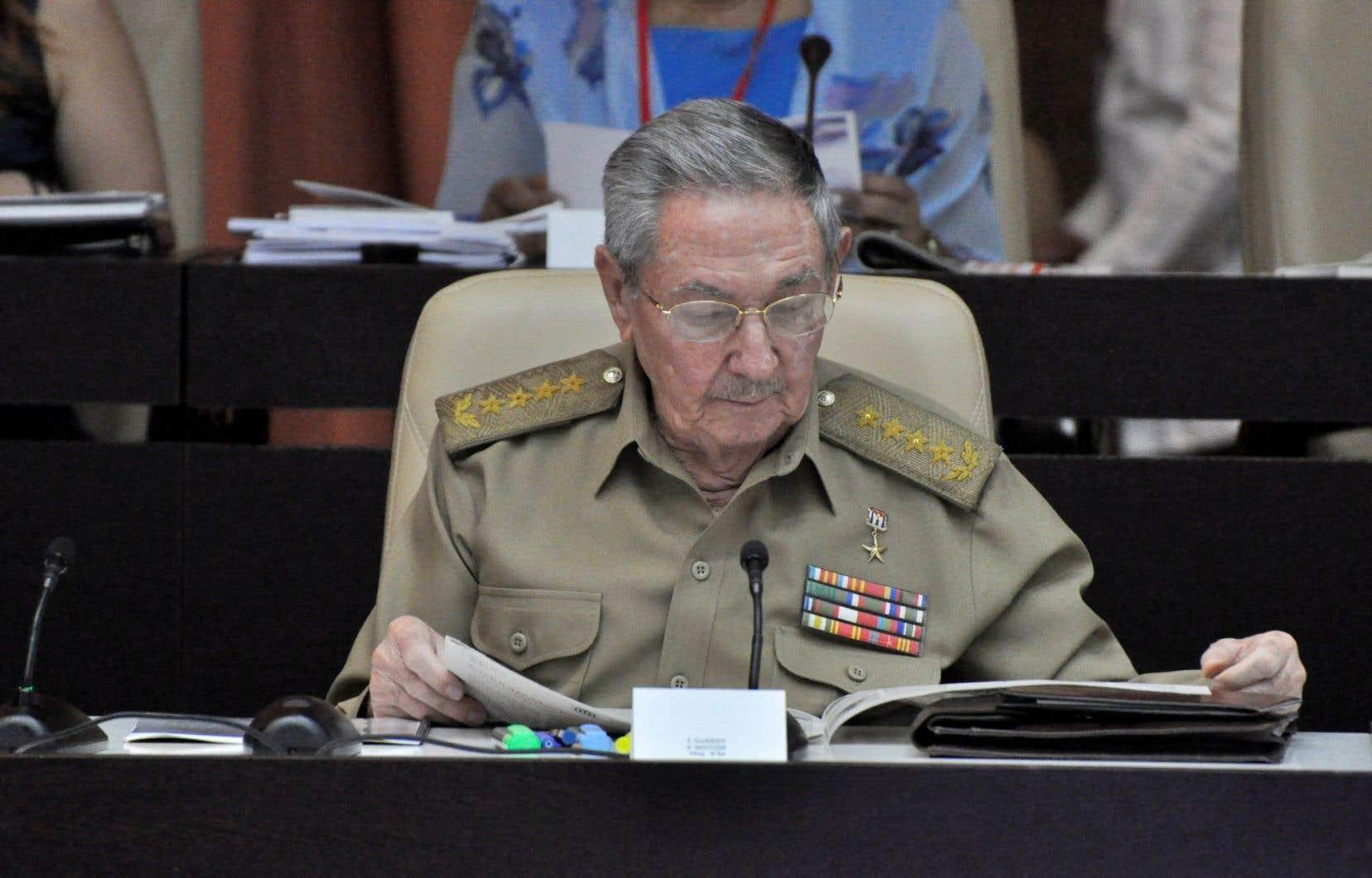 Raul Castro doit quitter la présidence en février prochain.