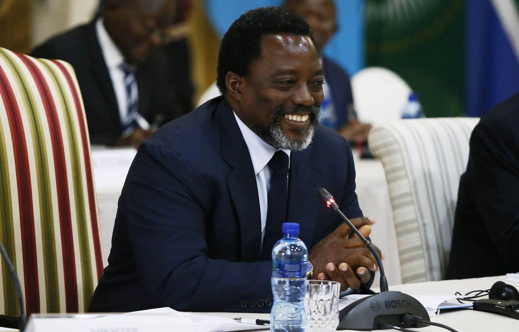Depuis 2016, l'opposition réclame le départ de Kabila.