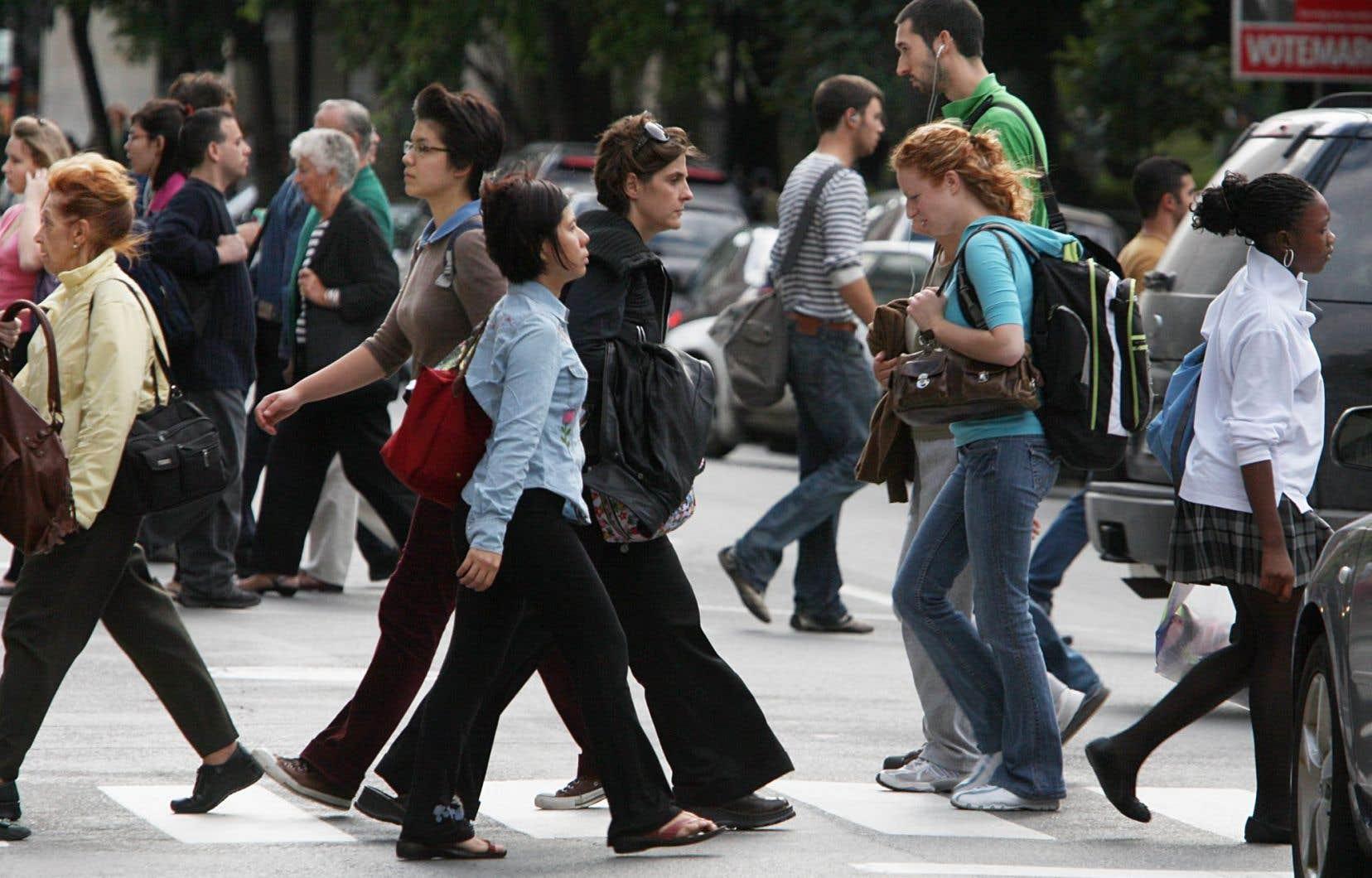Entre 2011 et 2016, le pourcentage de population de langue maternelle anglaise au Québec a bondi de 9 à 9,6%.