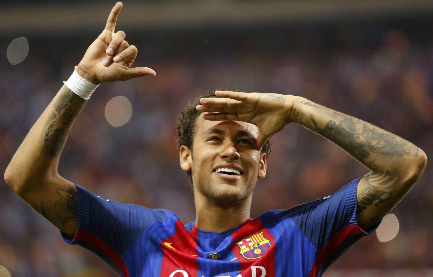Âgé de 25 ans, Neymar est déjà reconnu comme l'un des joueurs de soccer les plus talentueux au monde.