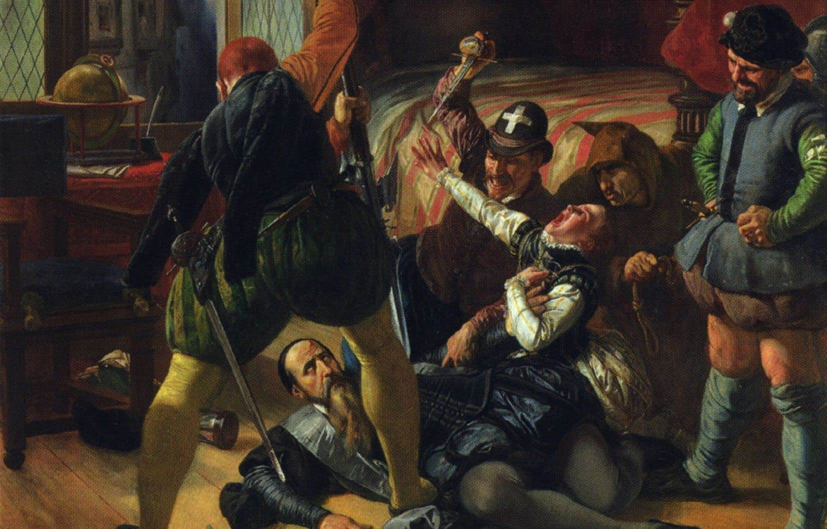 «Scène de la Saint-Barthélemy», Joseph-Nicolas Robert-Fleury, 1833.