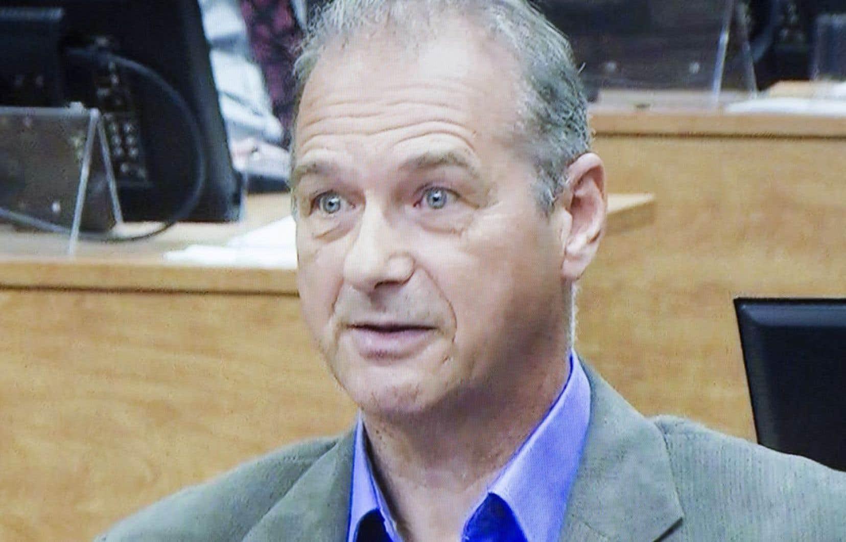 L'ancien attaché politique de Pauline Marois dans la circonscription de Charlevoix, Ernest Murray