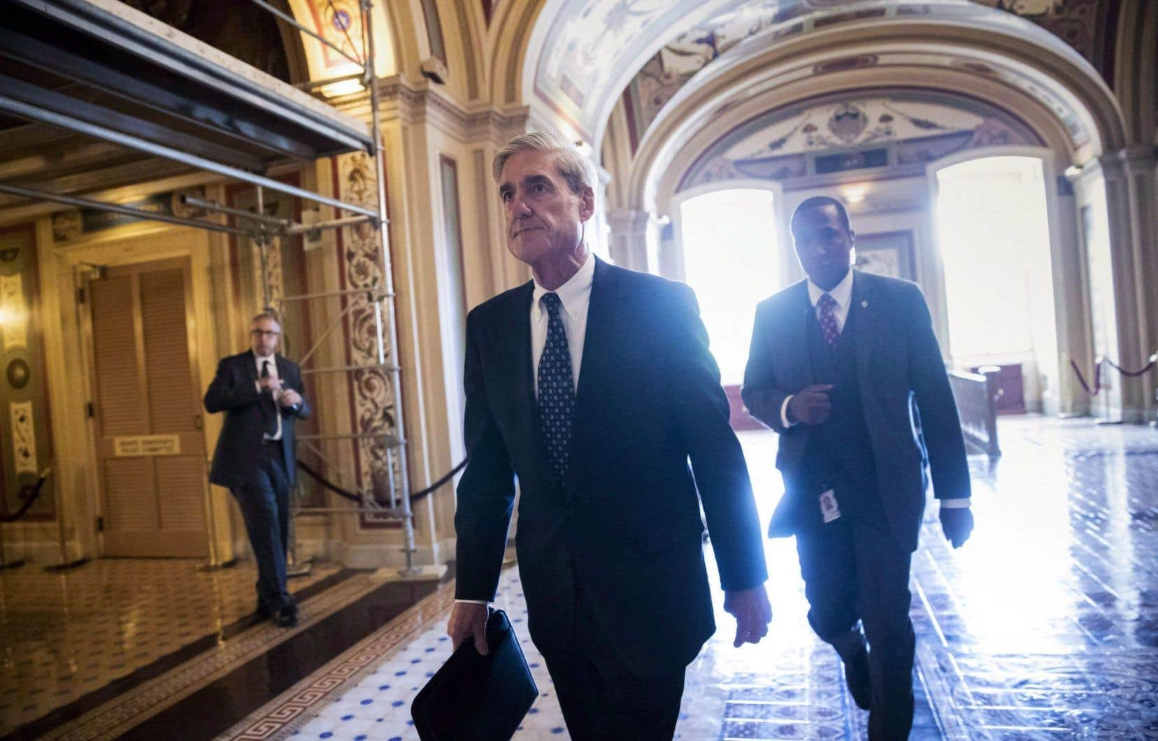 Le procureur spécial Robert Mueller, en juin dernier