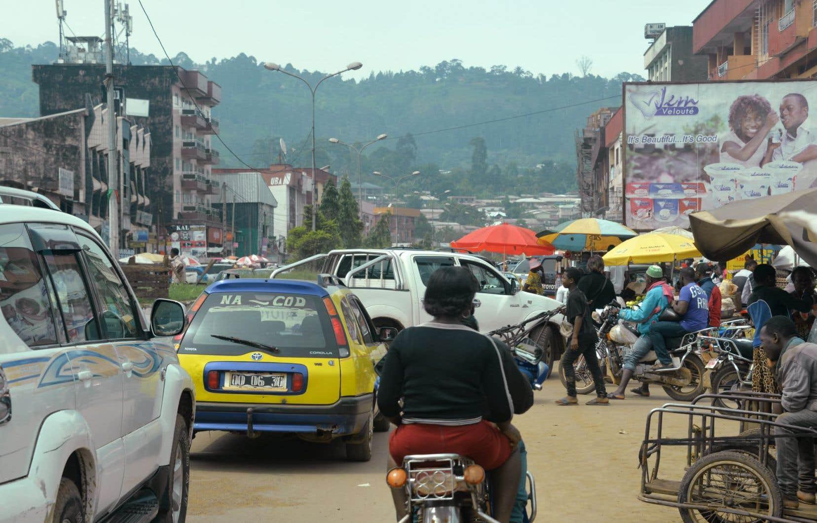 Bamenda, la capitale de la région anglophone du Nord-Ouest du Cameroun