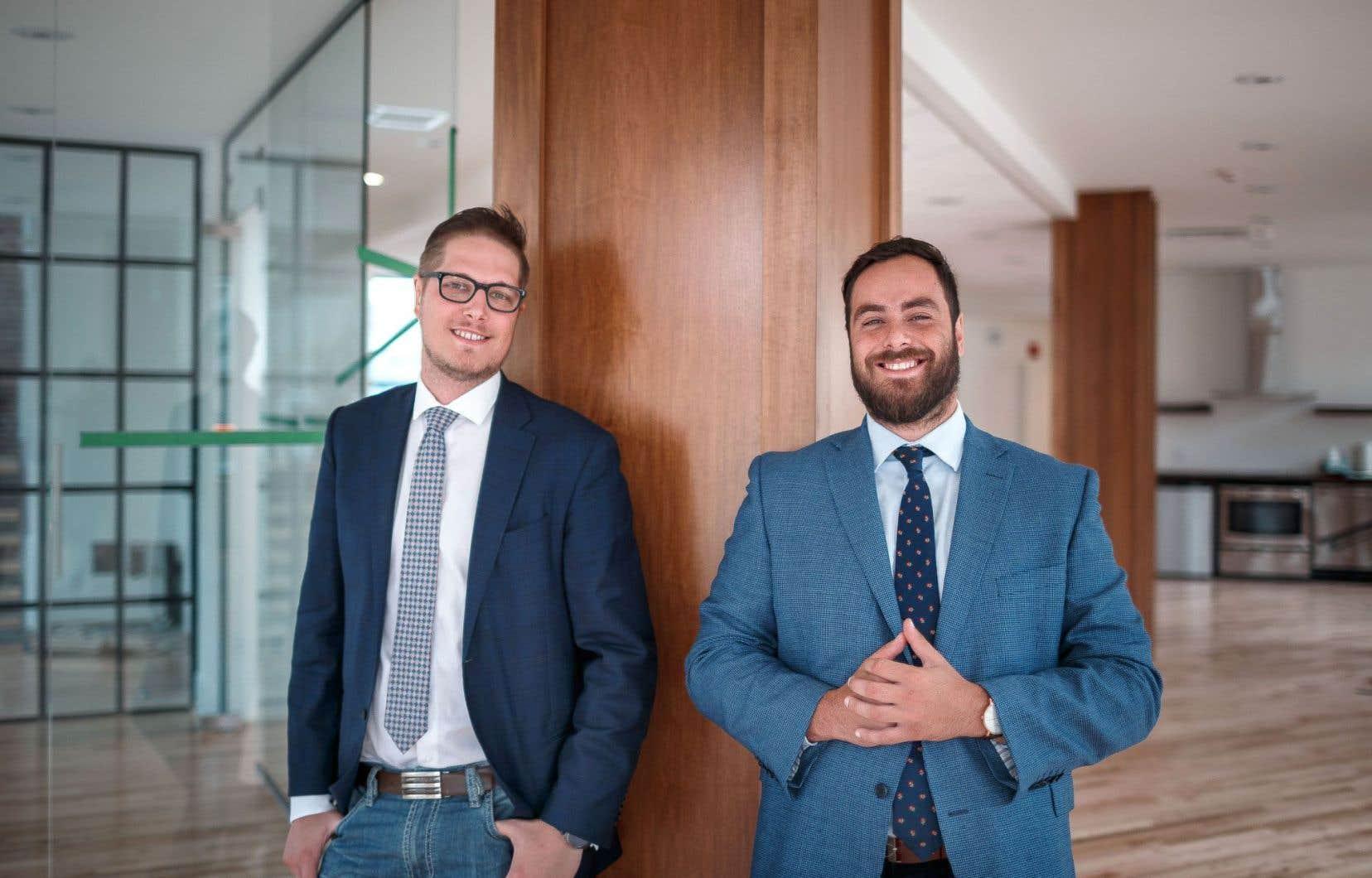 Avant de devenir partenaires d'affaires, Yan Raymond-Lalande et Rémi Richard ont été amis et colocs.