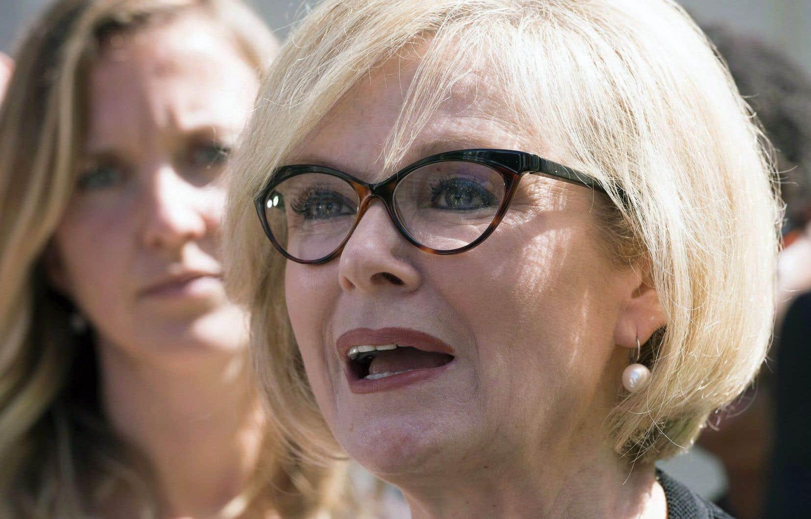 La ministre provinciale du Tourisme, Julie Boulet