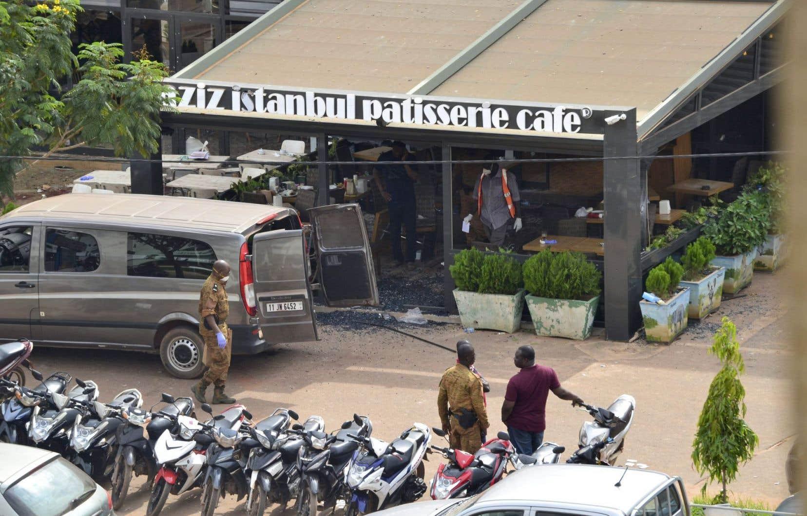 Le restaurant Istanbul est situé à 200 mètres du café Cappuccino, qui avait été en janvier2016 la cible d'une attaque djihadiste sanglante.