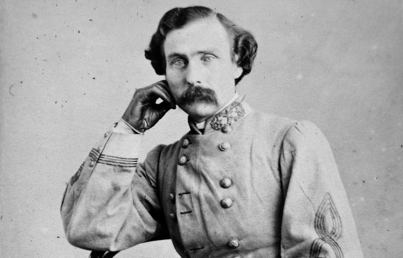 Le général Daniel M.Frost était un des activistes sudistes présents à Montréal.