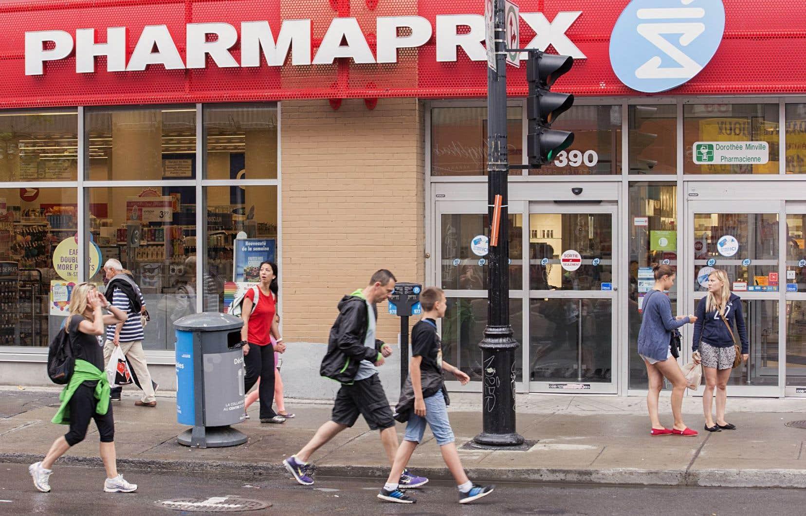 Option consommateurs a souligné que Pharmaprix avait accepté de verser l'équivalent d'environ 4,35millions en points Optimum.