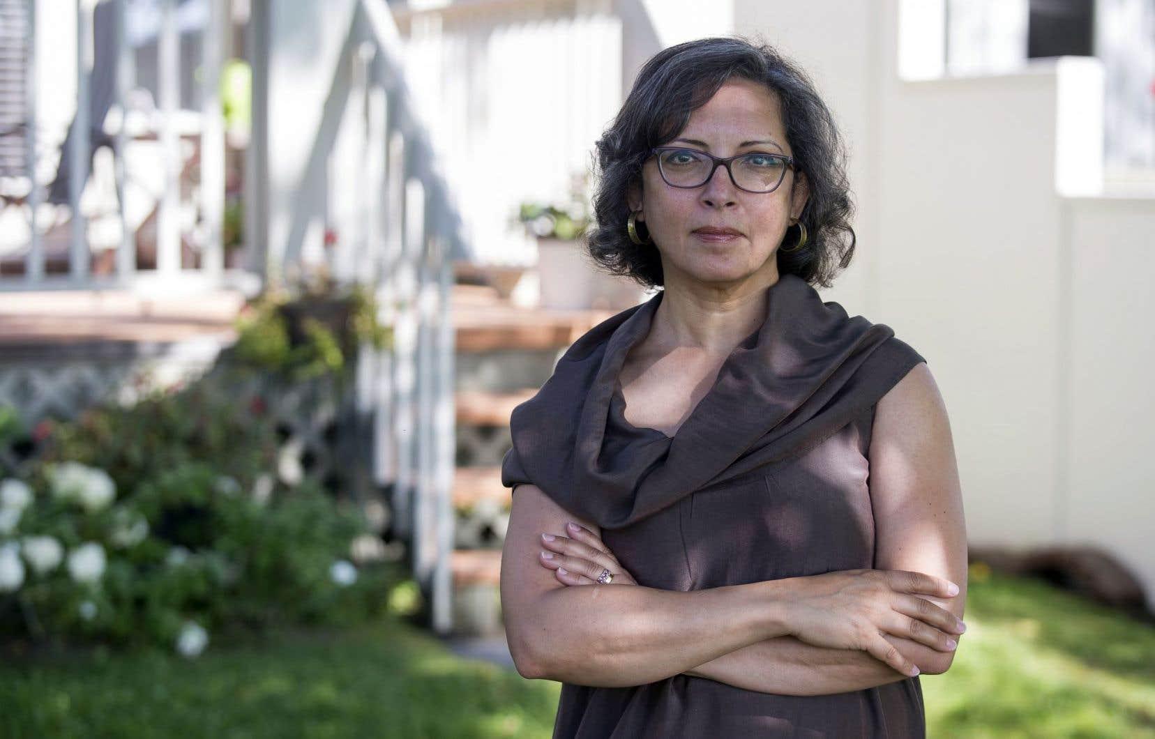 L'auteure, née en 1965 au Caire, en Égypte, est débarquée à Montréal à la fin des années 1990.