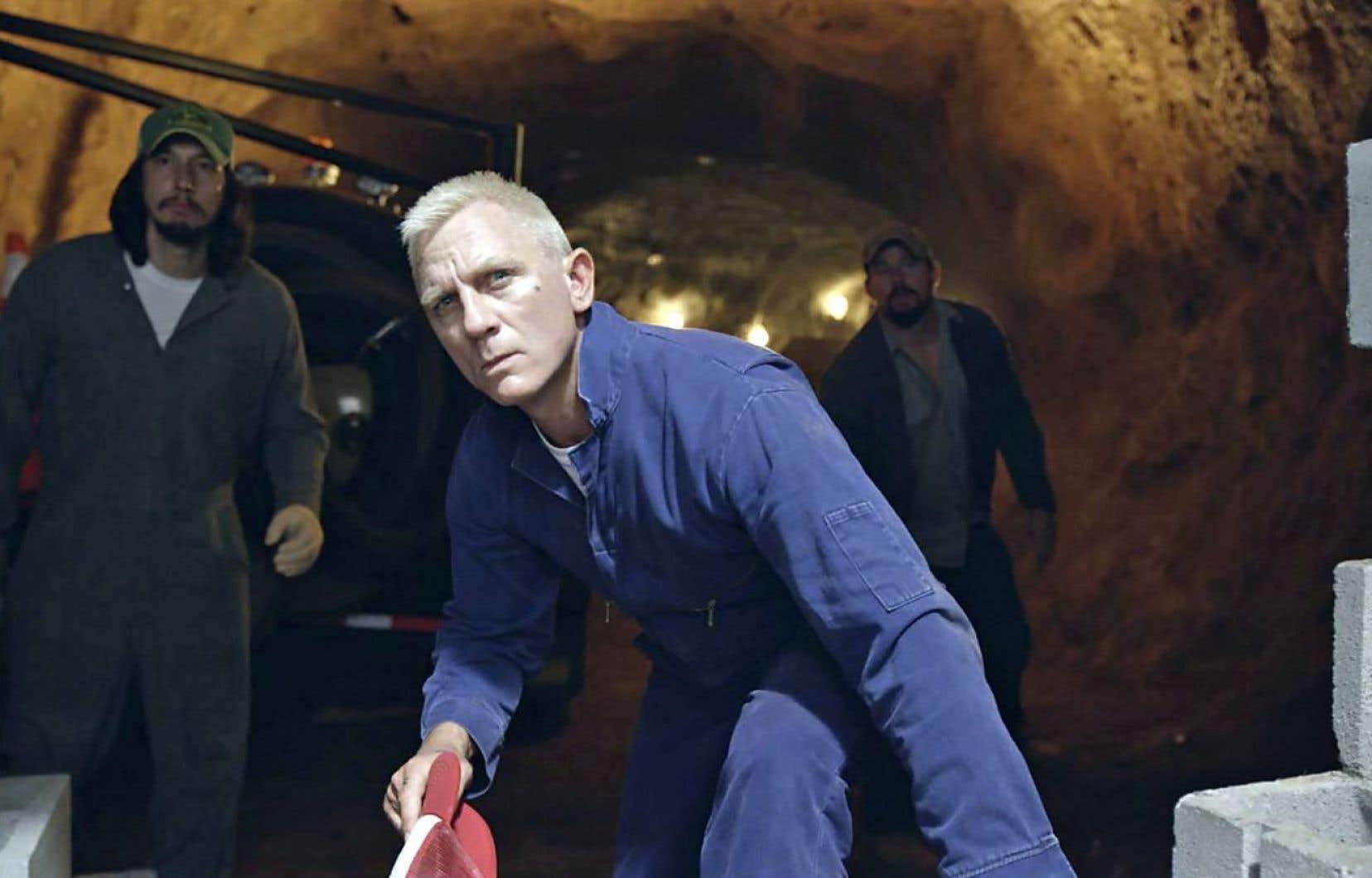Les personnages sont tous hauts en couleur, mais réalistes. Ici, Daniel Craig, Adam Driver et Channing Tatum