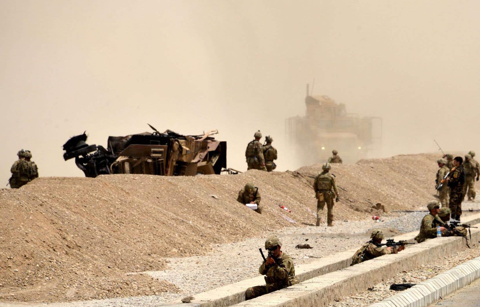 Selon le «New York Times», M.Bannon, et le gendre de Donald Trump, Jared Kushner, ont avancé l'idée de confier les tâches de sécurité en Afghanistan à des entrepreneurs privés.
