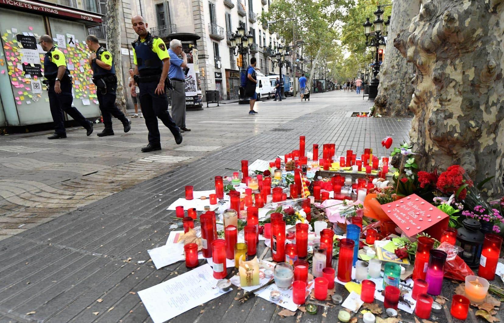 Quatorze personnes ont péri lors d'une attaque terroriste à Barcelone, le 17 août dernier.