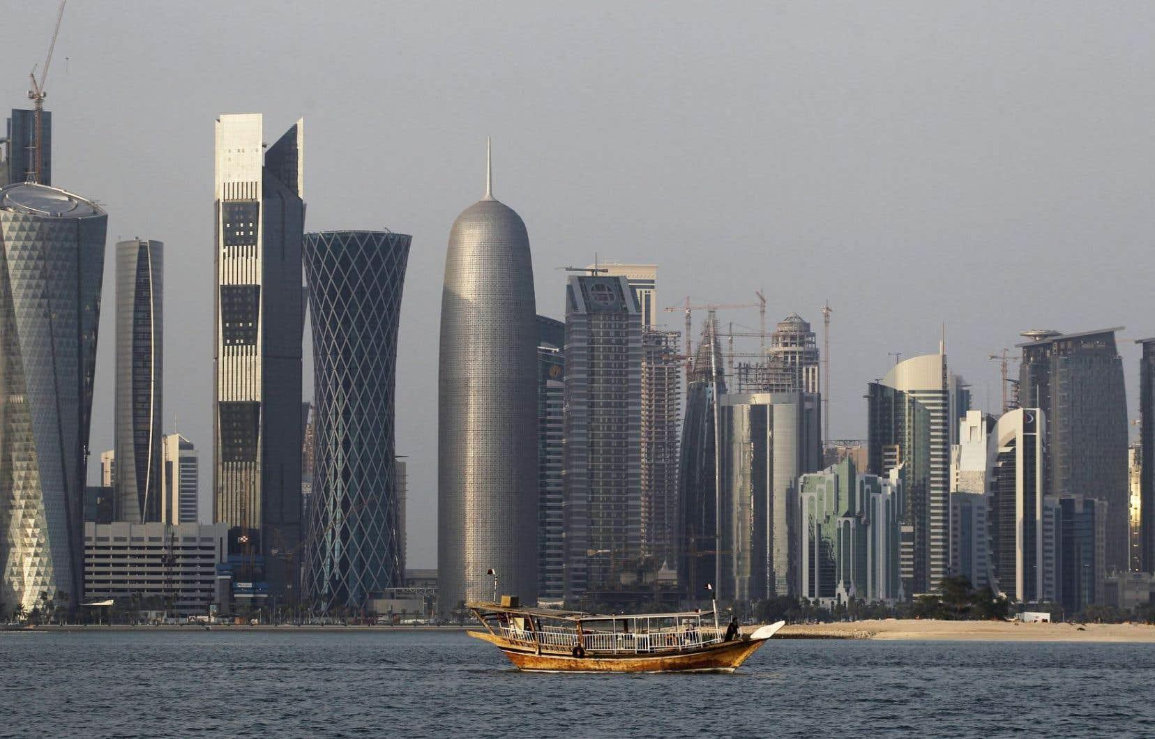 Le stade Al Thumama, dans la banlieue de Doha du même nom, doit être complété en 2020.