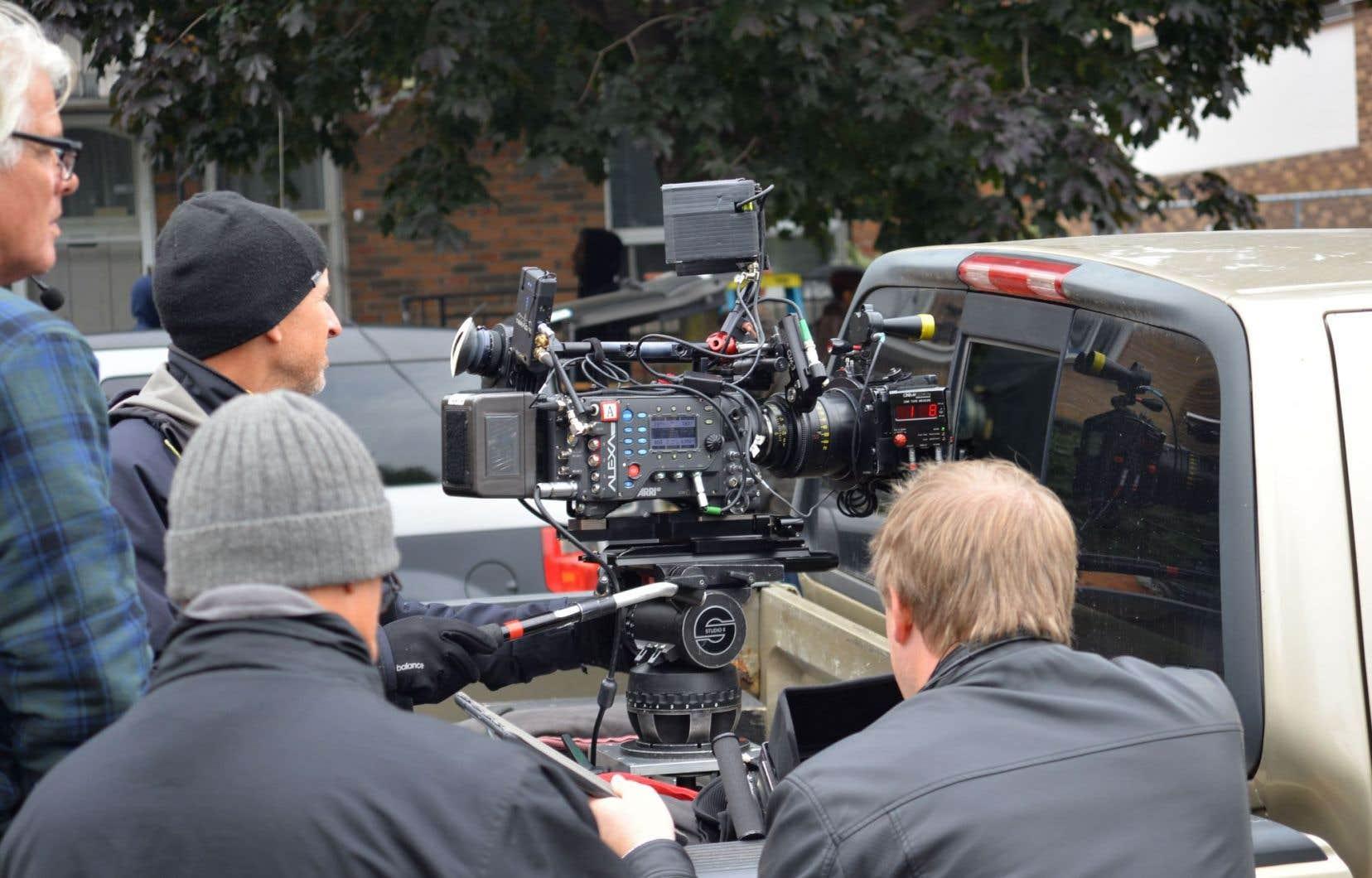 Le monde québécois de la télévision et du cinéma a vu la valeur de ses productions diminuer de 3% entre 2015 et 2016, pour s'établir à 1,5 milliard.