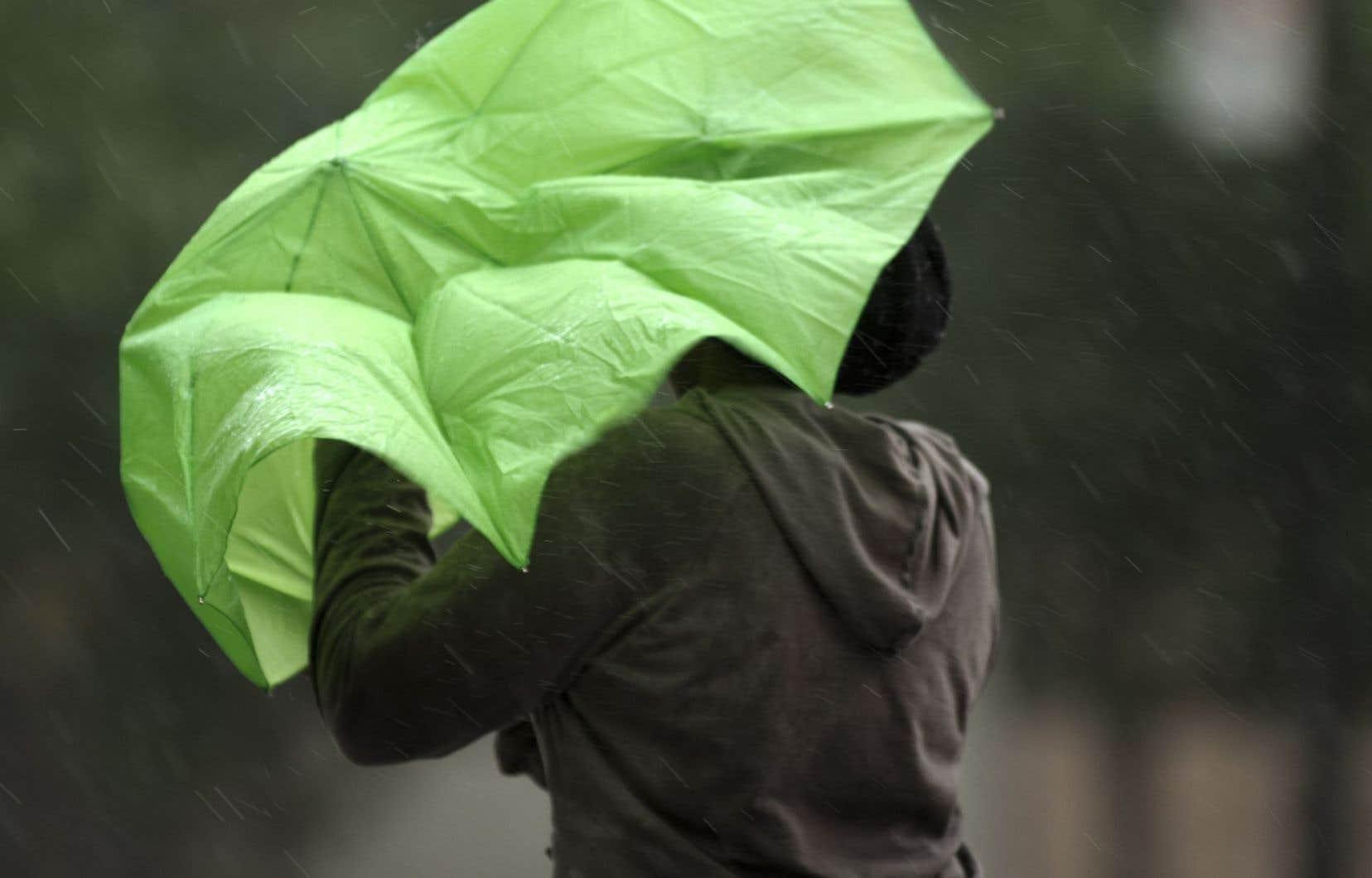 L'orage de mardi après-midi a produit des rafales à plus de 110km/h, selon Environnement Canada.