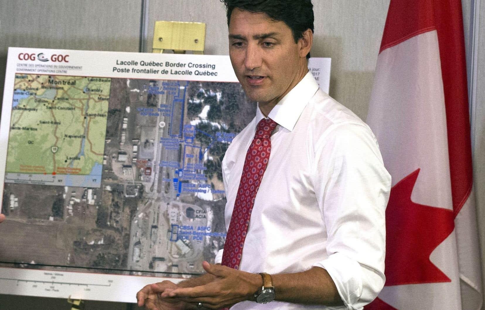 Justin Trudeau a présenté mercredi le plan de match issu du groupe de travail composé de ministres fédéraux et provinciaux.